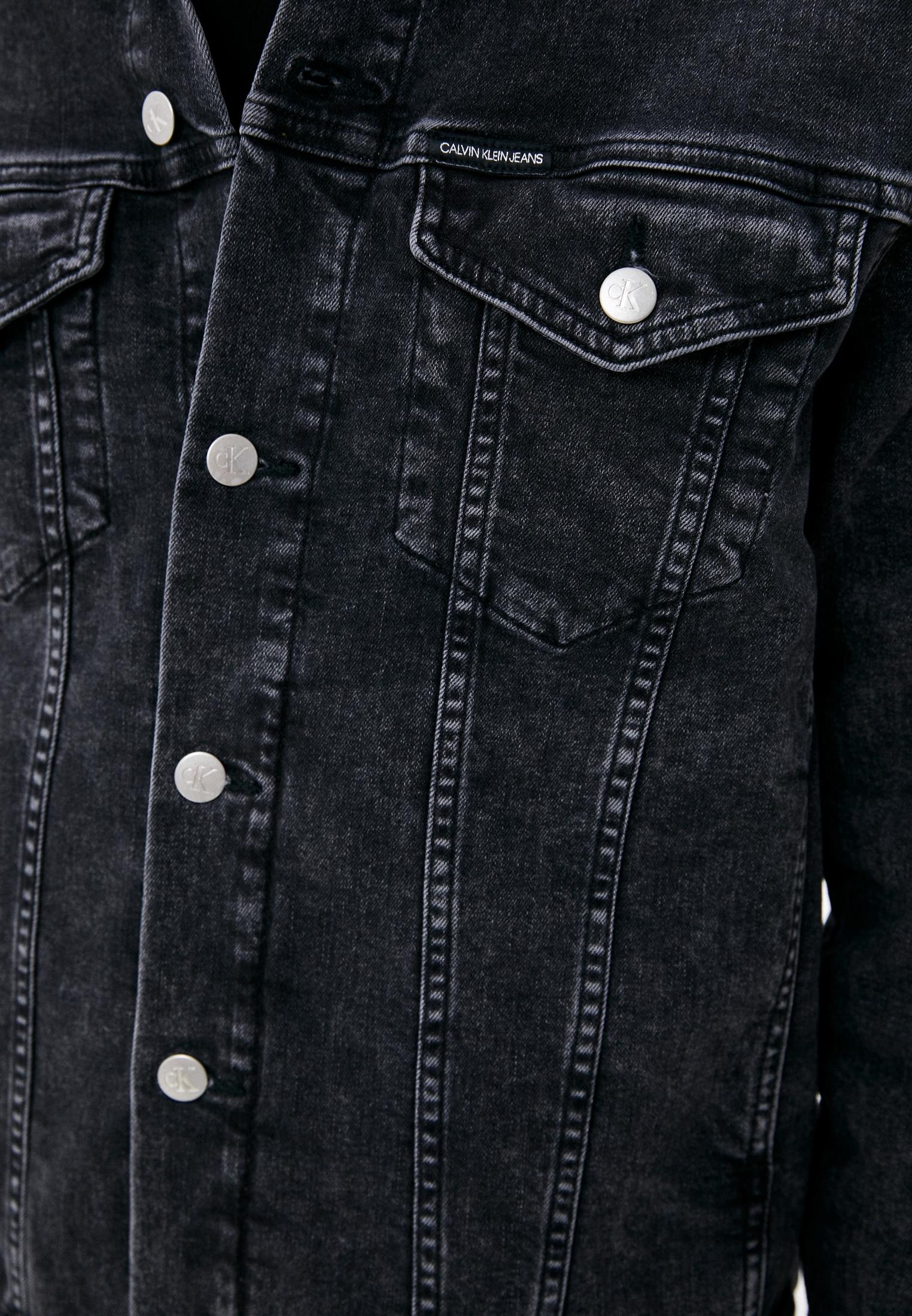 Джинсовая куртка Calvin Klein Jeans J30J319123: изображение 4