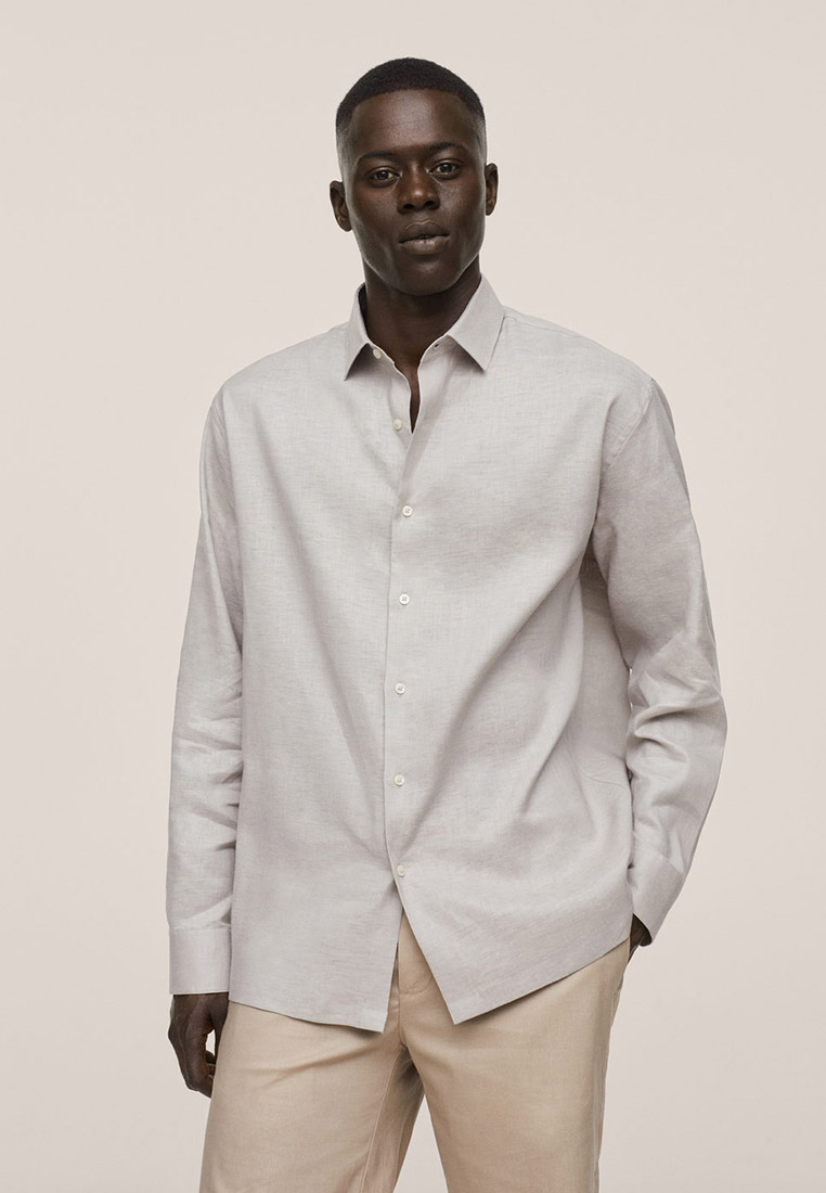 Рубашка с длинным рукавом Mango Man 17050067
