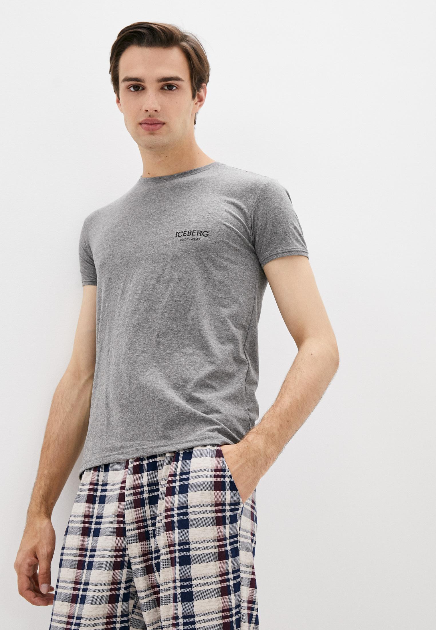 Мужская футболка Iceberg (Айсберг) ICE1UTS01