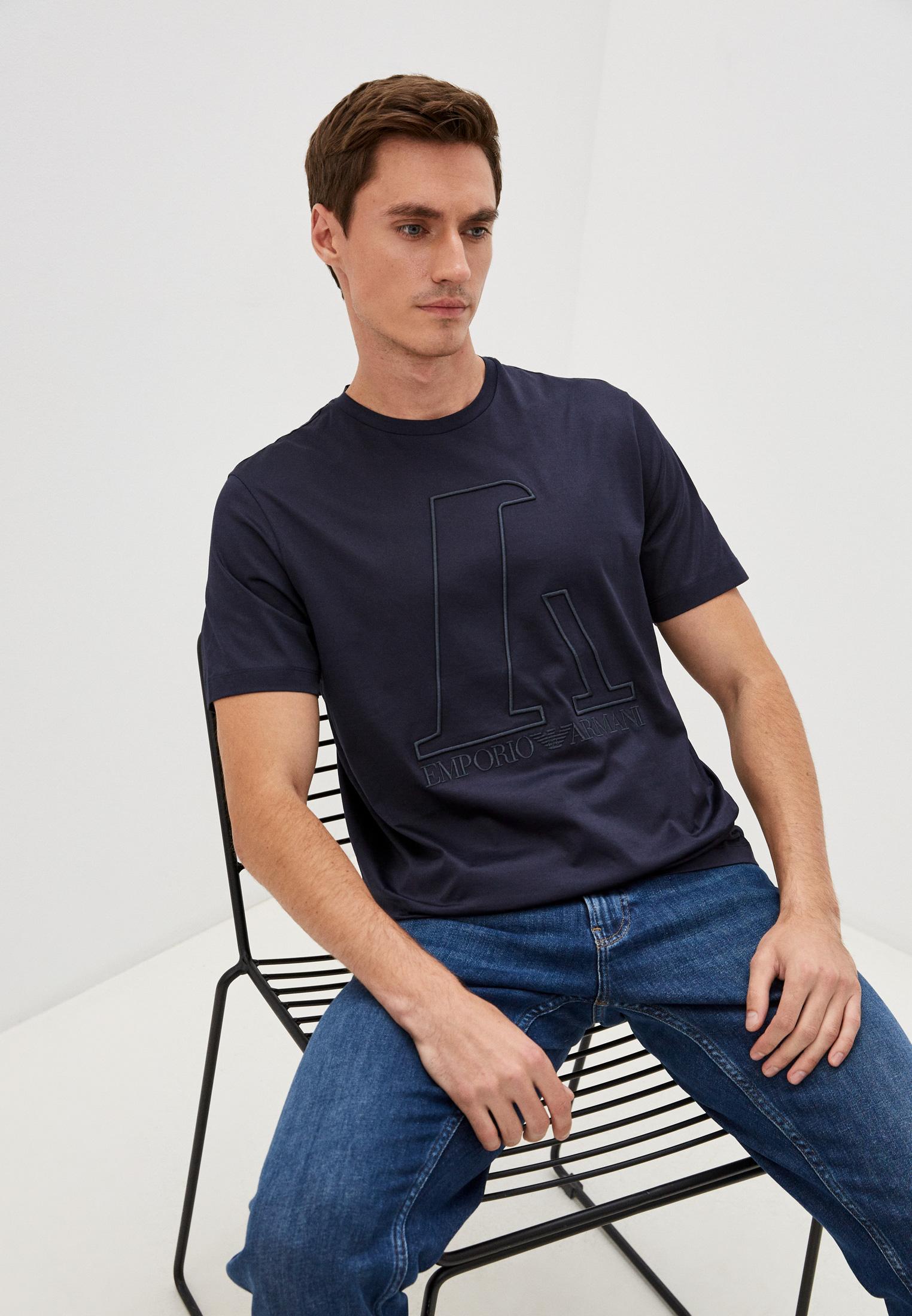 Мужская футболка Emporio Armani (Эмпорио Армани) 6K1T6R 1JQ3Z