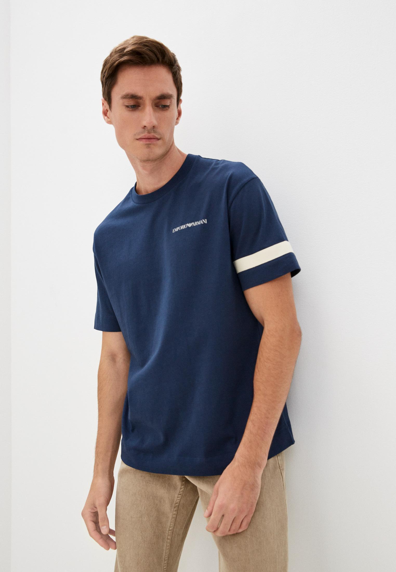 Мужская футболка Emporio Armani (Эмпорио Армани) 6K1TE5 1JSBZ