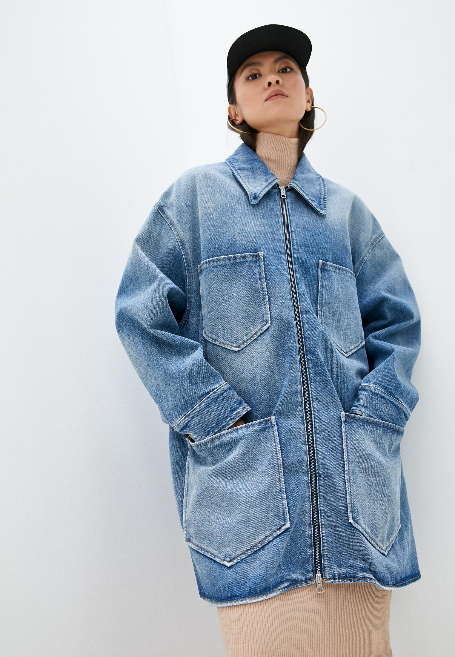 Джинсовая куртка MM6 Maison Margiela Куртка джинсовая MM6 Maison Margiela