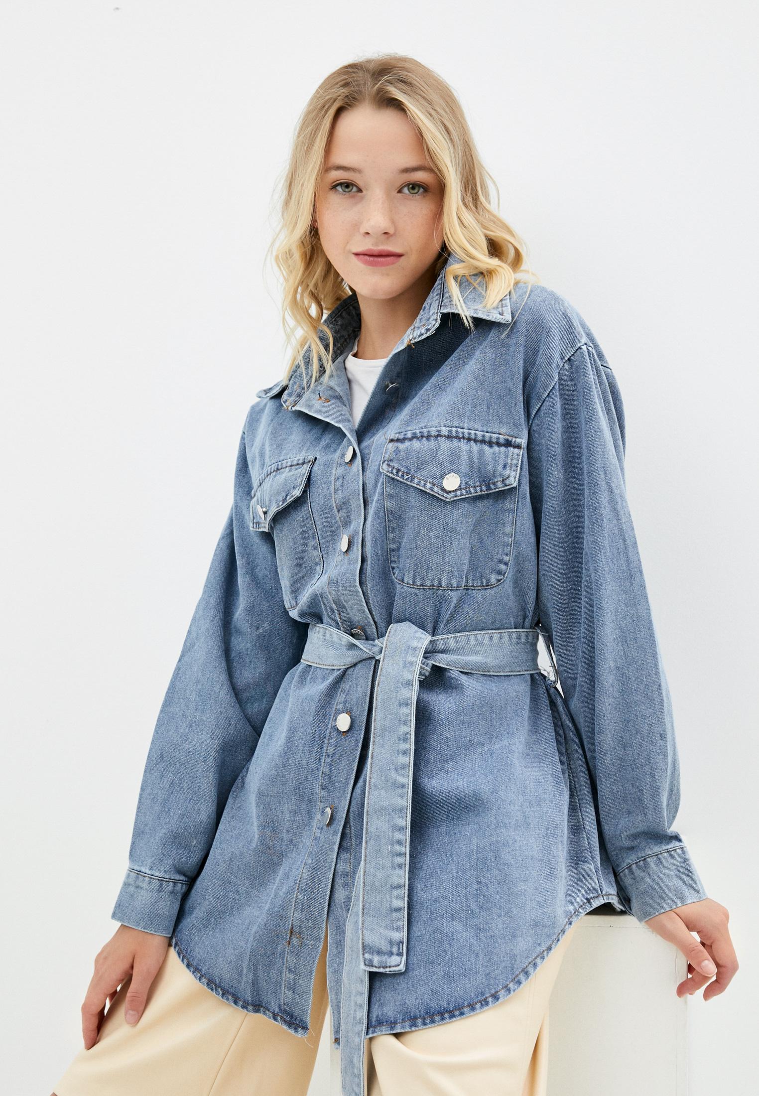 Женские джинсовые рубашки Goldrai 1540
