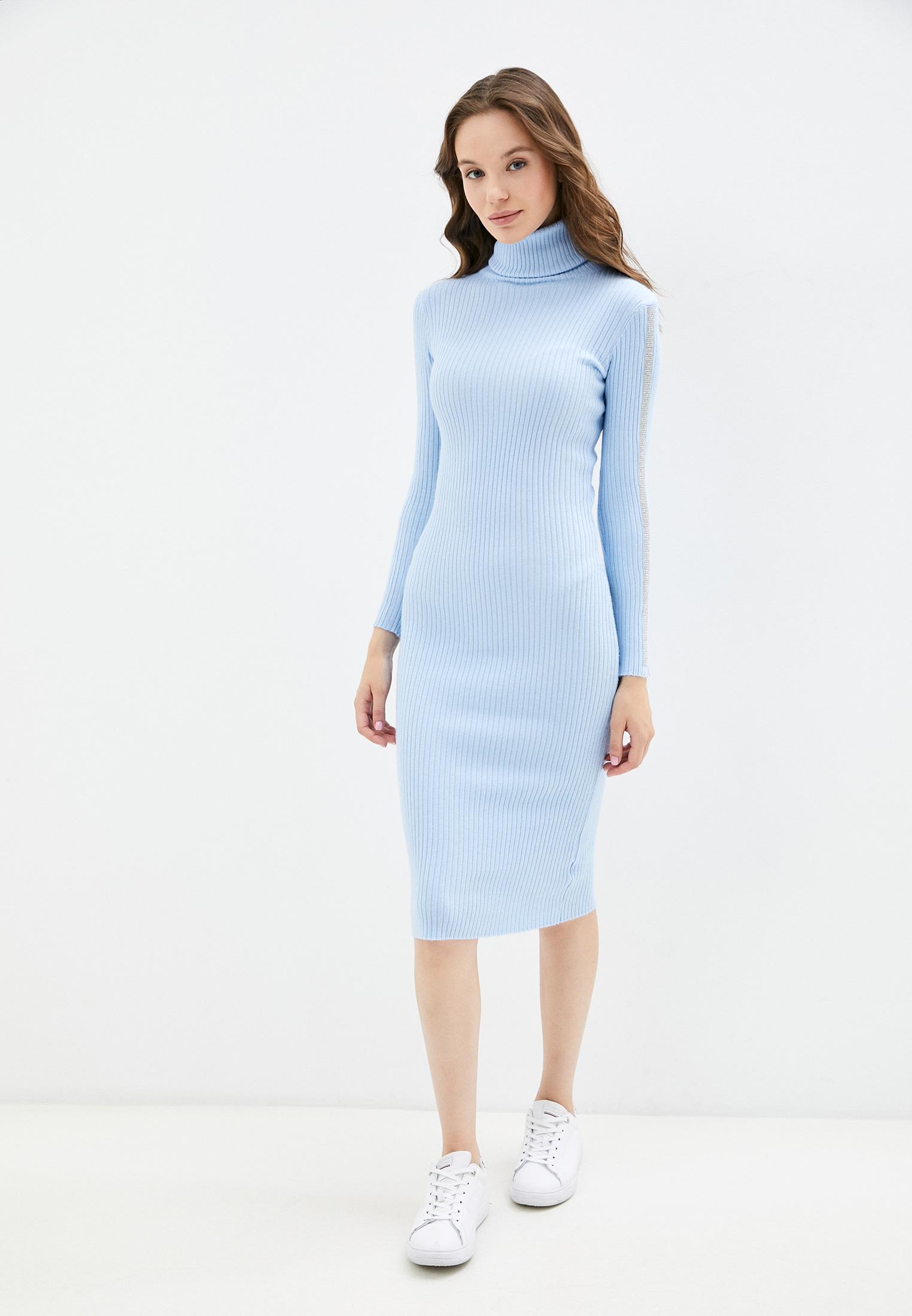 Вязаное платье Goldrai D607