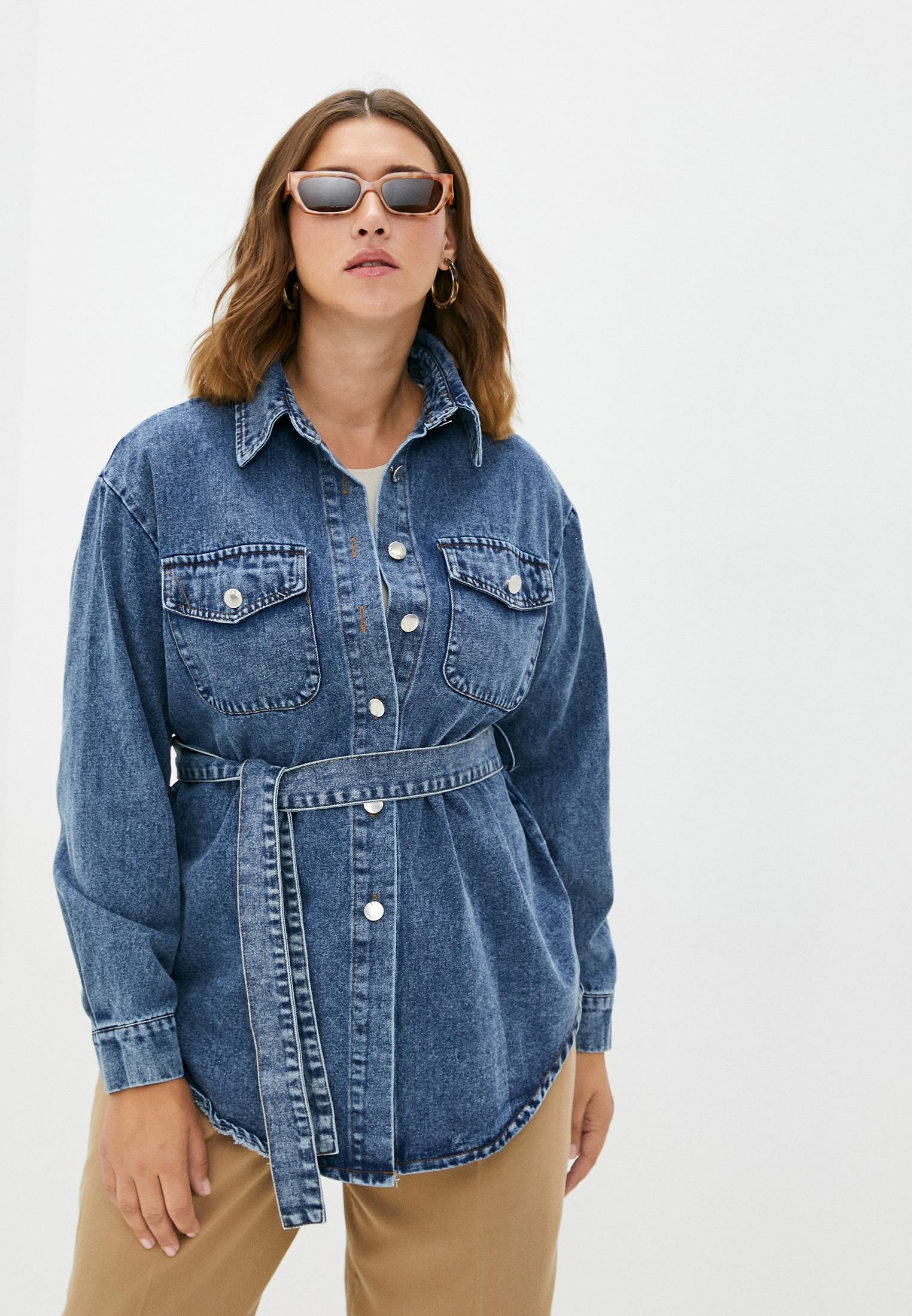 Женские джинсовые рубашки Miss Gabby Рубашка джинсовая Miss Gabby
