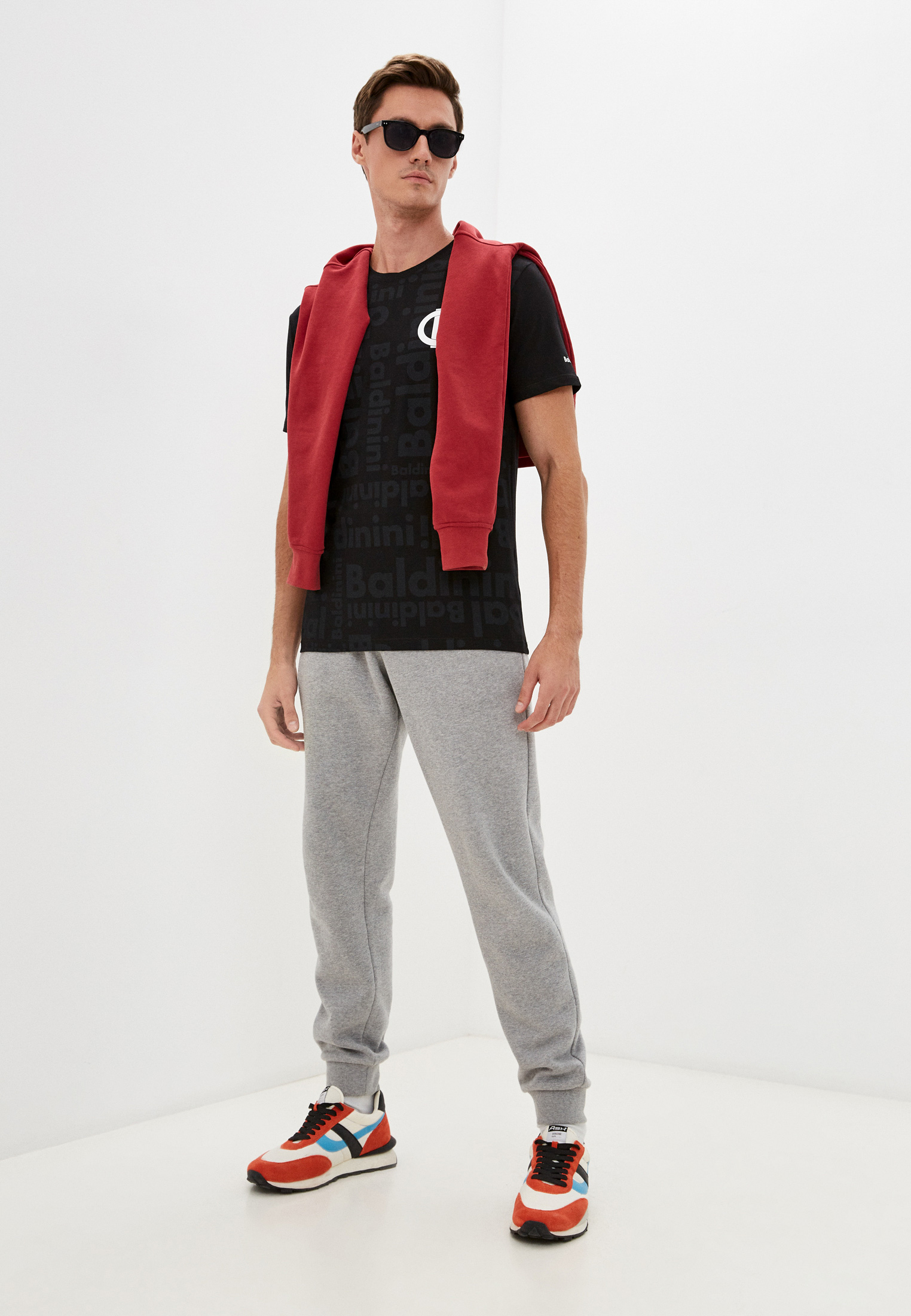 Мужская футболка Baldinini (Балдинини) TSU06: изображение 3