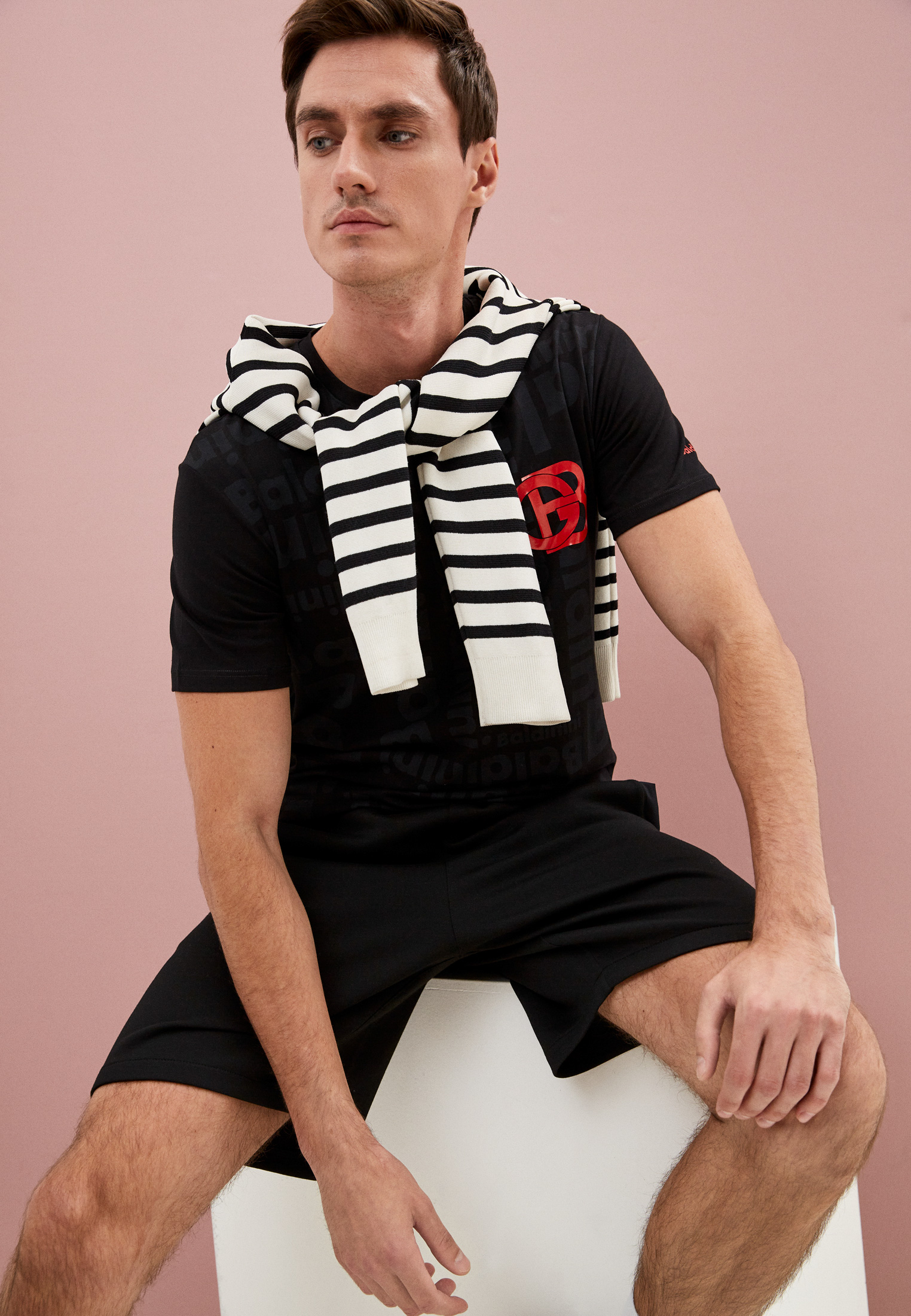 Мужская футболка Baldinini (Балдинини) TSU06: изображение 7