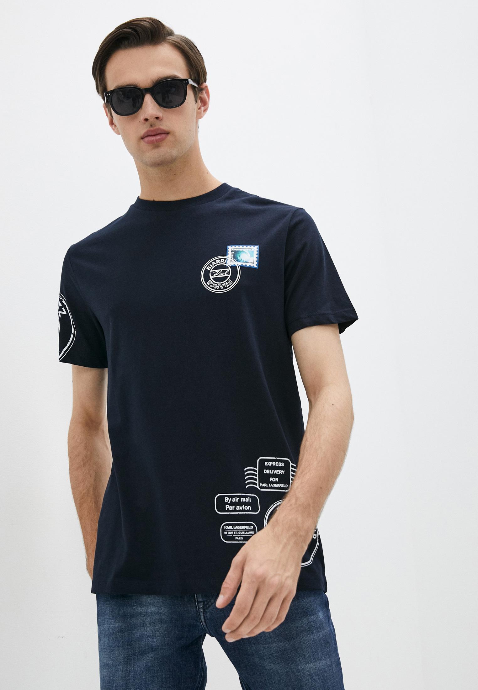 Мужская футболка Karl Lagerfeld (Карл Лагерфельд) 512224-755090