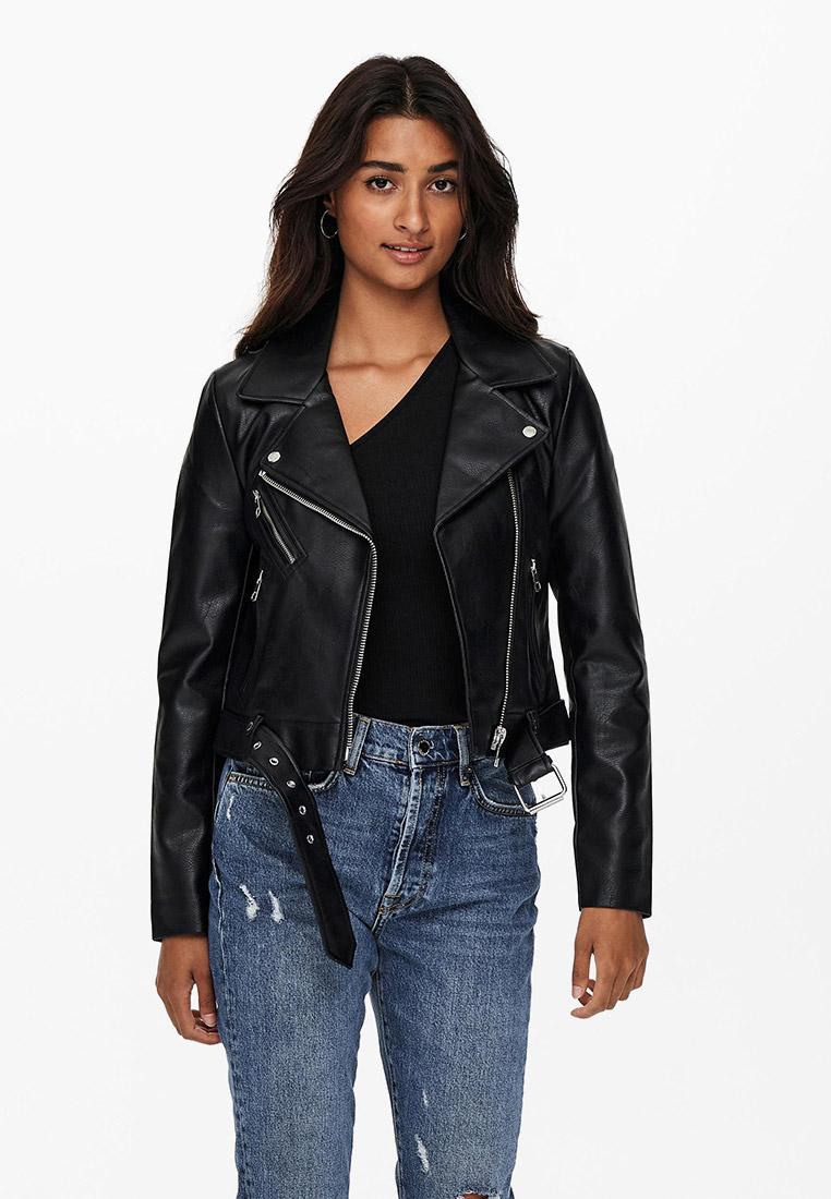Кожаная куртка Only (Онли) 15232135