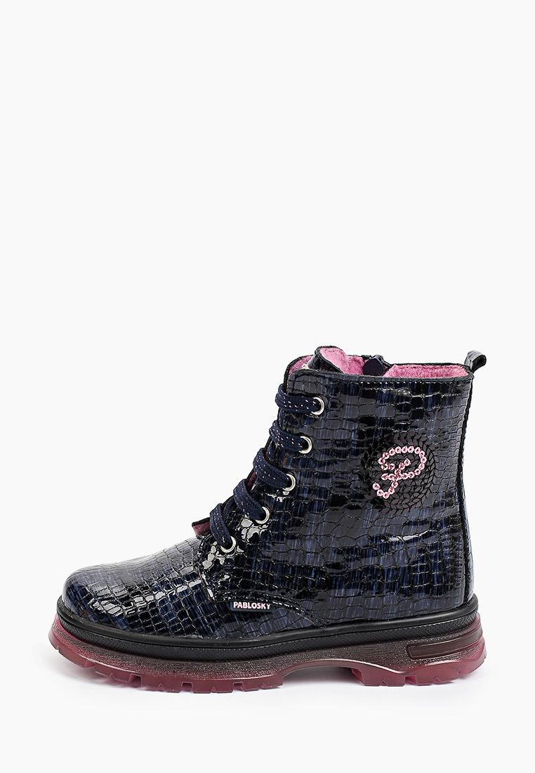 Ботинки для девочек Pablosky (Паблоски) Ботинки Pablosky