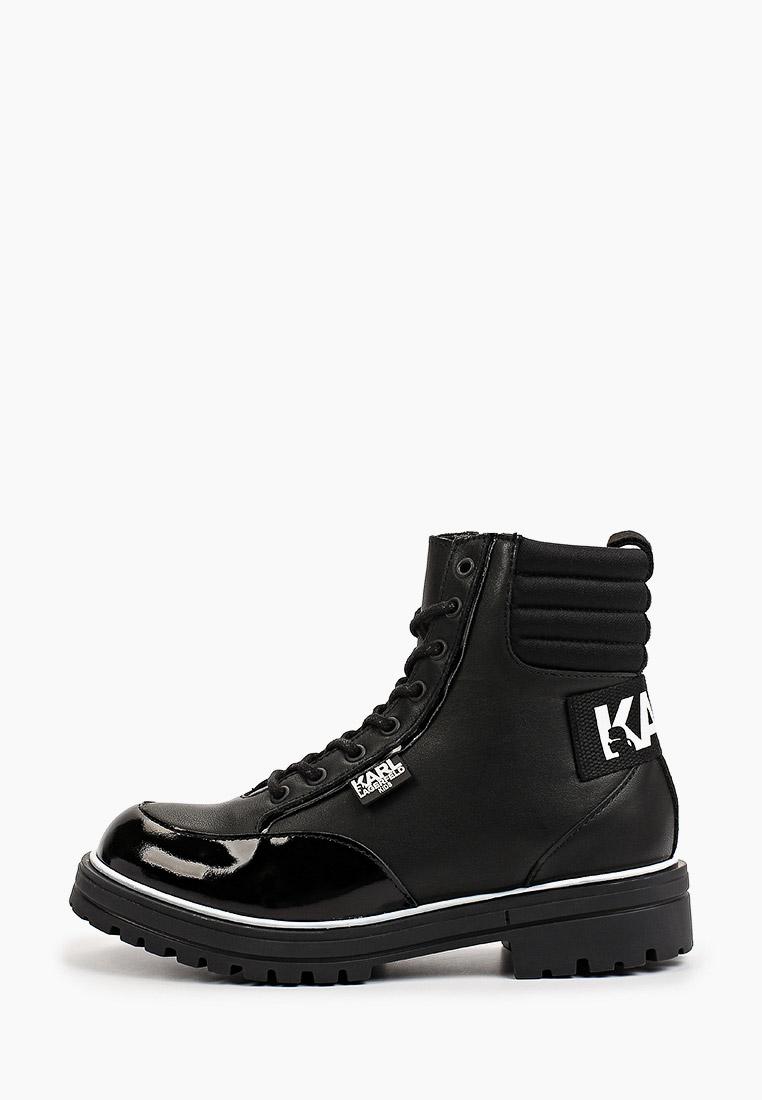 Ботинки для девочек KARL LAGERFELD KIDS Z19063
