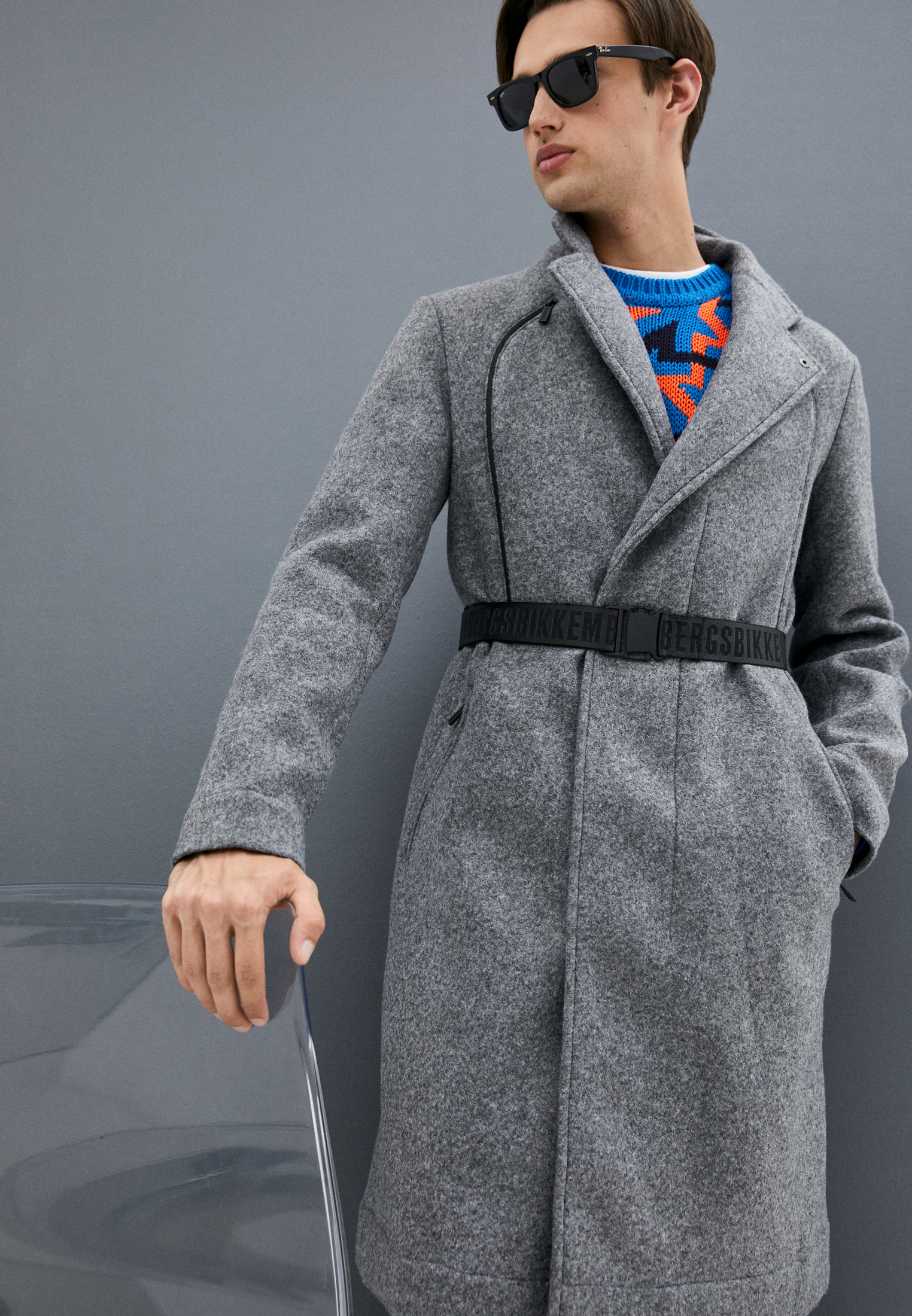 Мужское пальто Bikkembergs (Биккембергс) C 3 027 00 E 2091: изображение 2