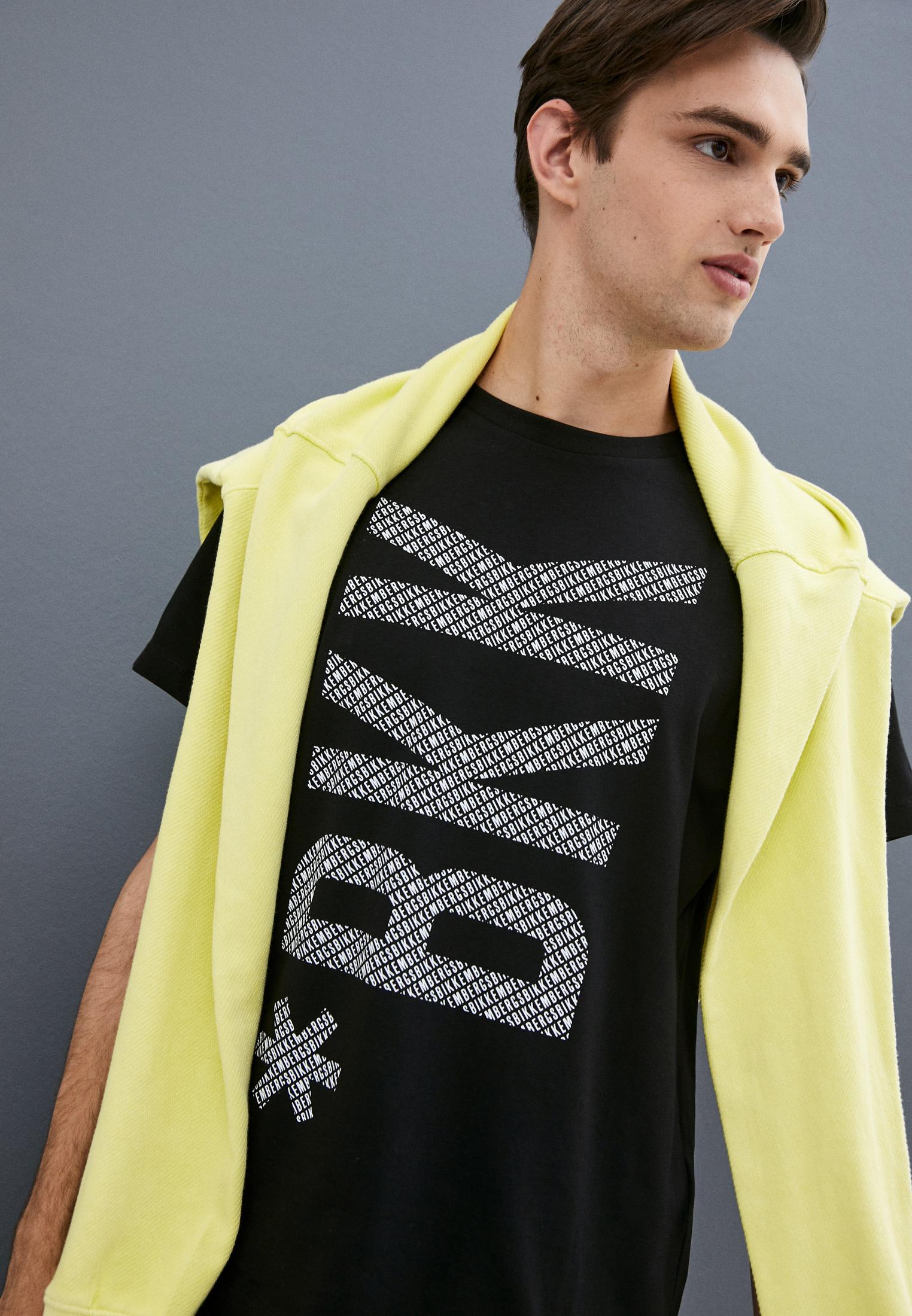 Мужская футболка Bikkembergs (Биккембергс) C 7 022 9U E 1823: изображение 2