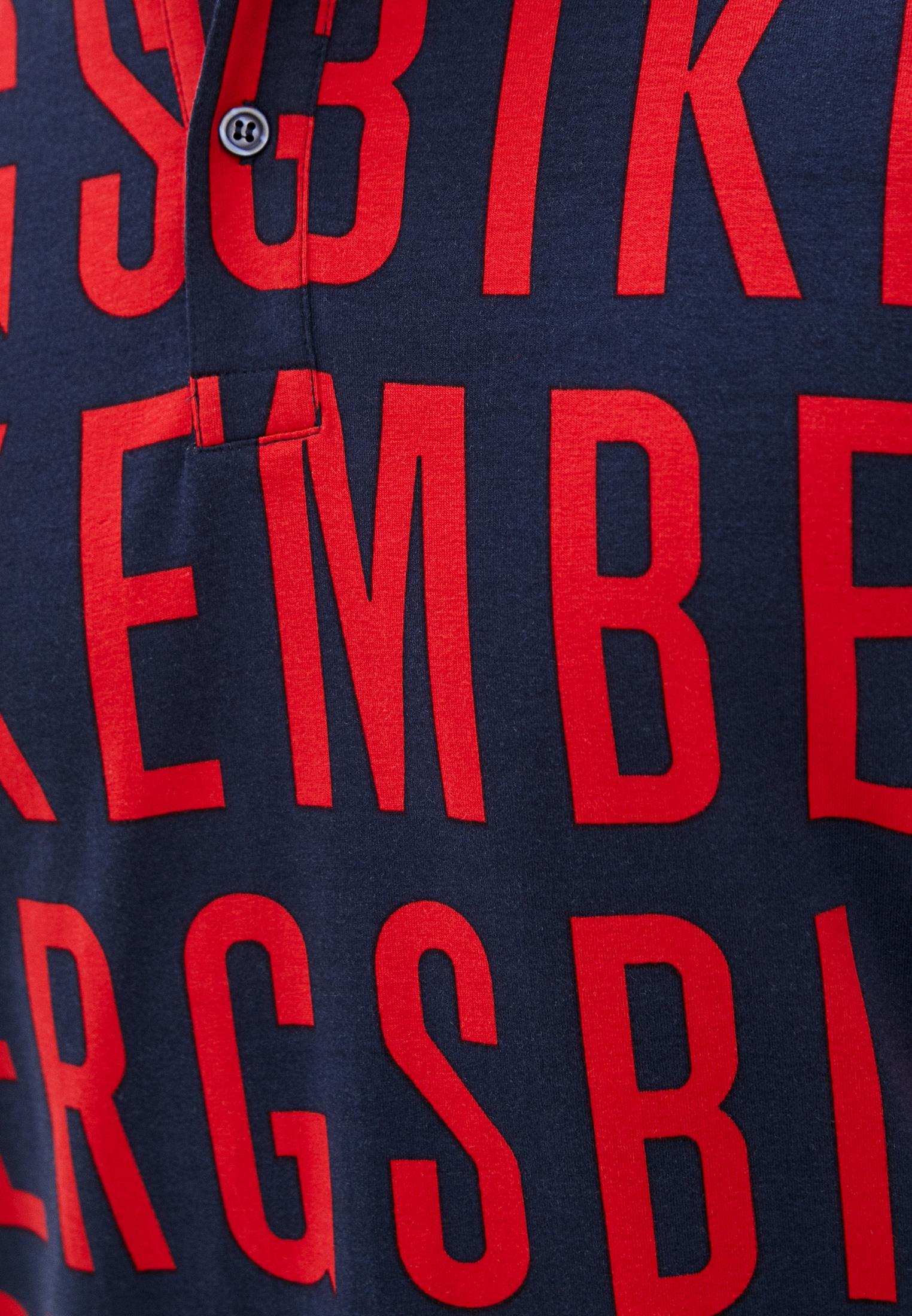 Мужские поло Bikkembergs (Биккембергс) C 8 010 00 E 2098: изображение 10