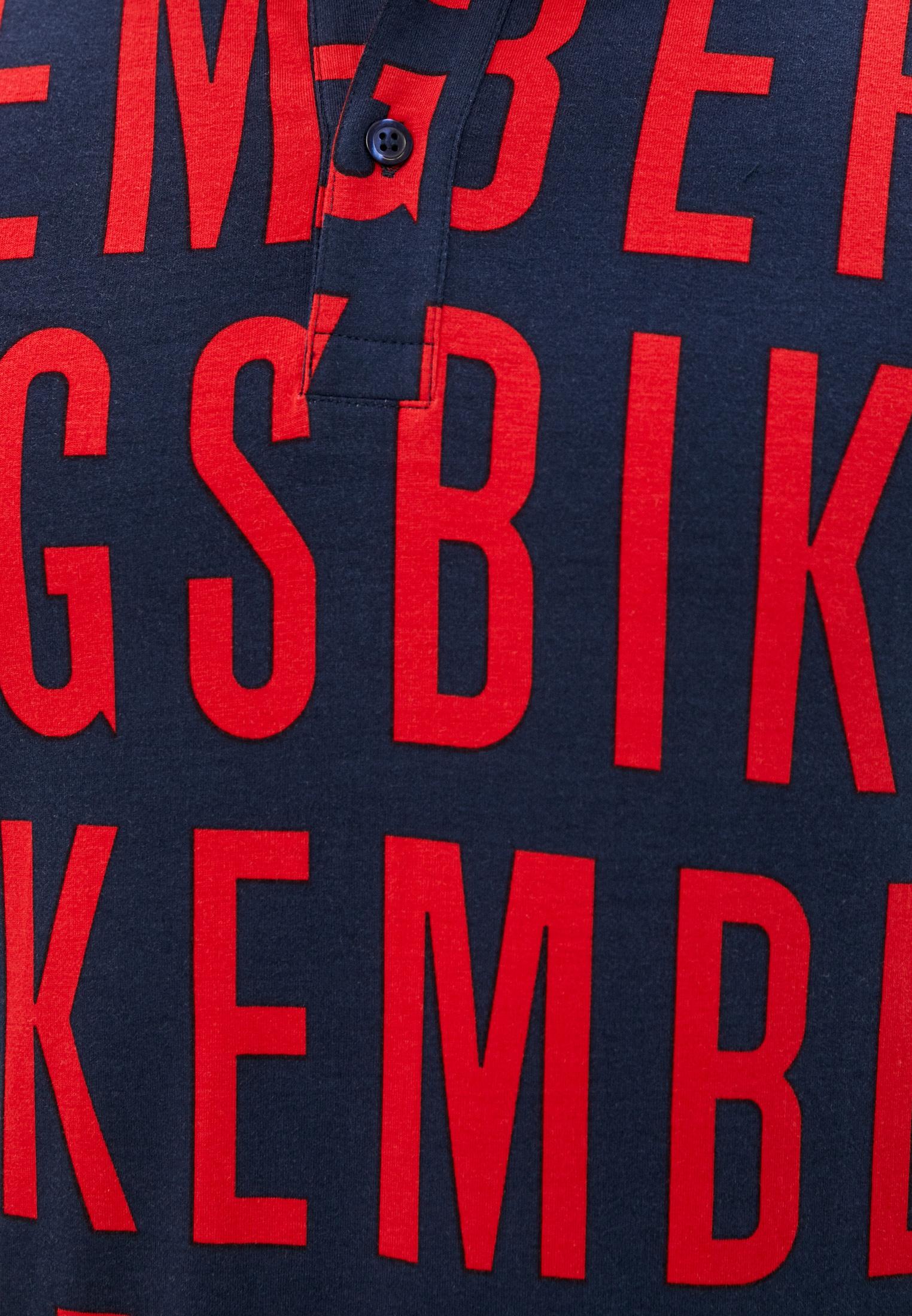 Мужские поло Bikkembergs (Биккембергс) C 8 010 00 E 2098: изображение 15