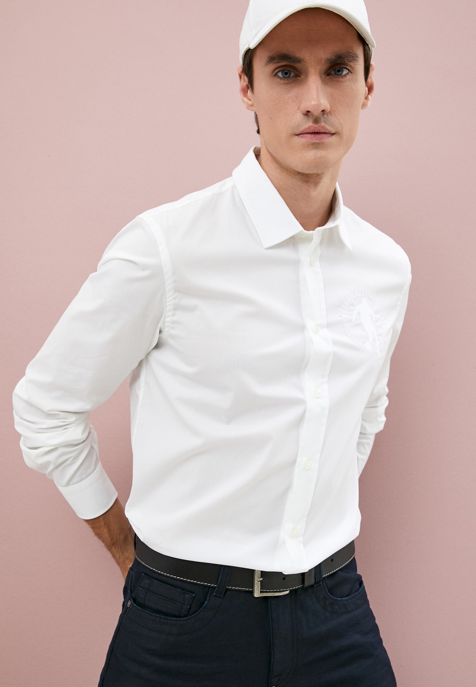 Рубашка с длинным рукавом Bikkembergs (Биккембергс) C C 009 2C S 2931: изображение 8
