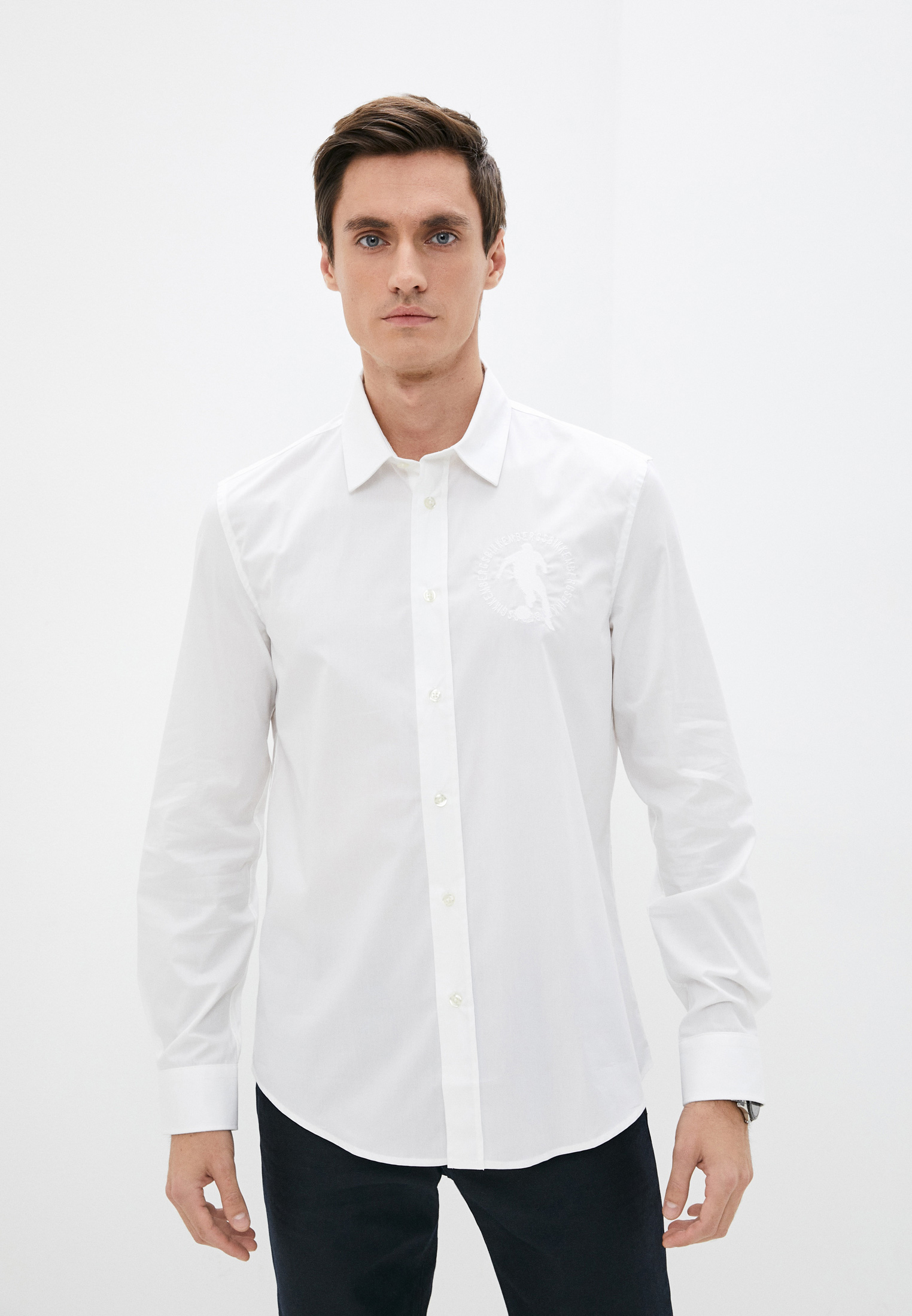 Рубашка с длинным рукавом Bikkembergs (Биккембергс) C C 009 2C S 2931: изображение 11