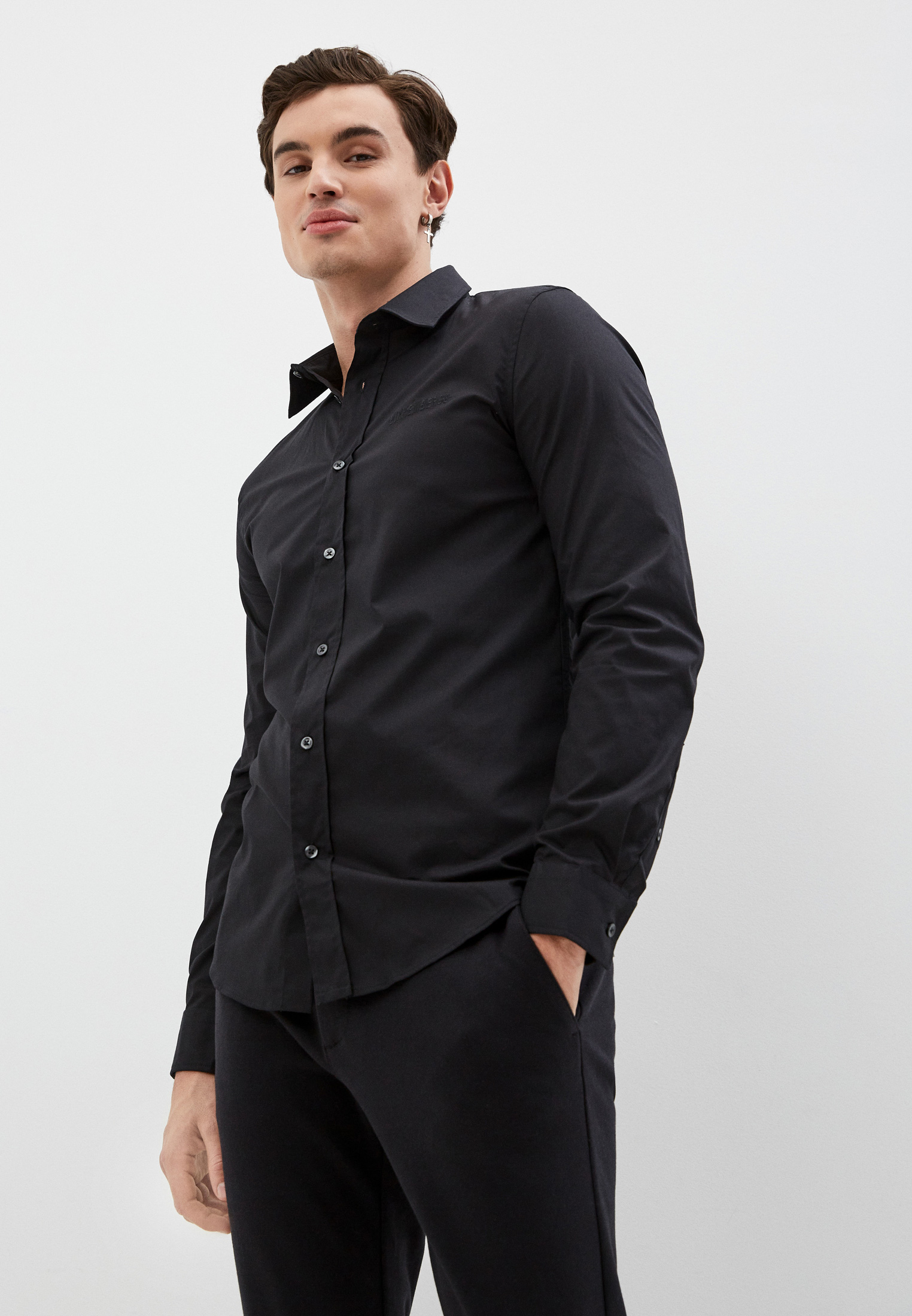 Рубашка с длинным рукавом Bikkembergs C C 053 04 S 2931: изображение 6