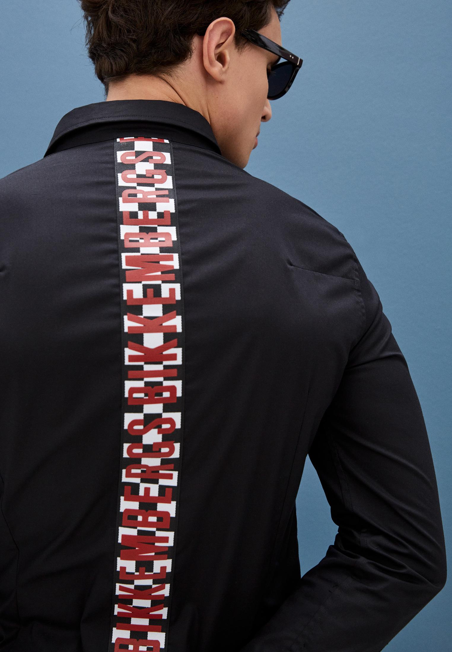 Рубашка с длинным рукавом Bikkembergs C C 053 04 S 2931: изображение 7