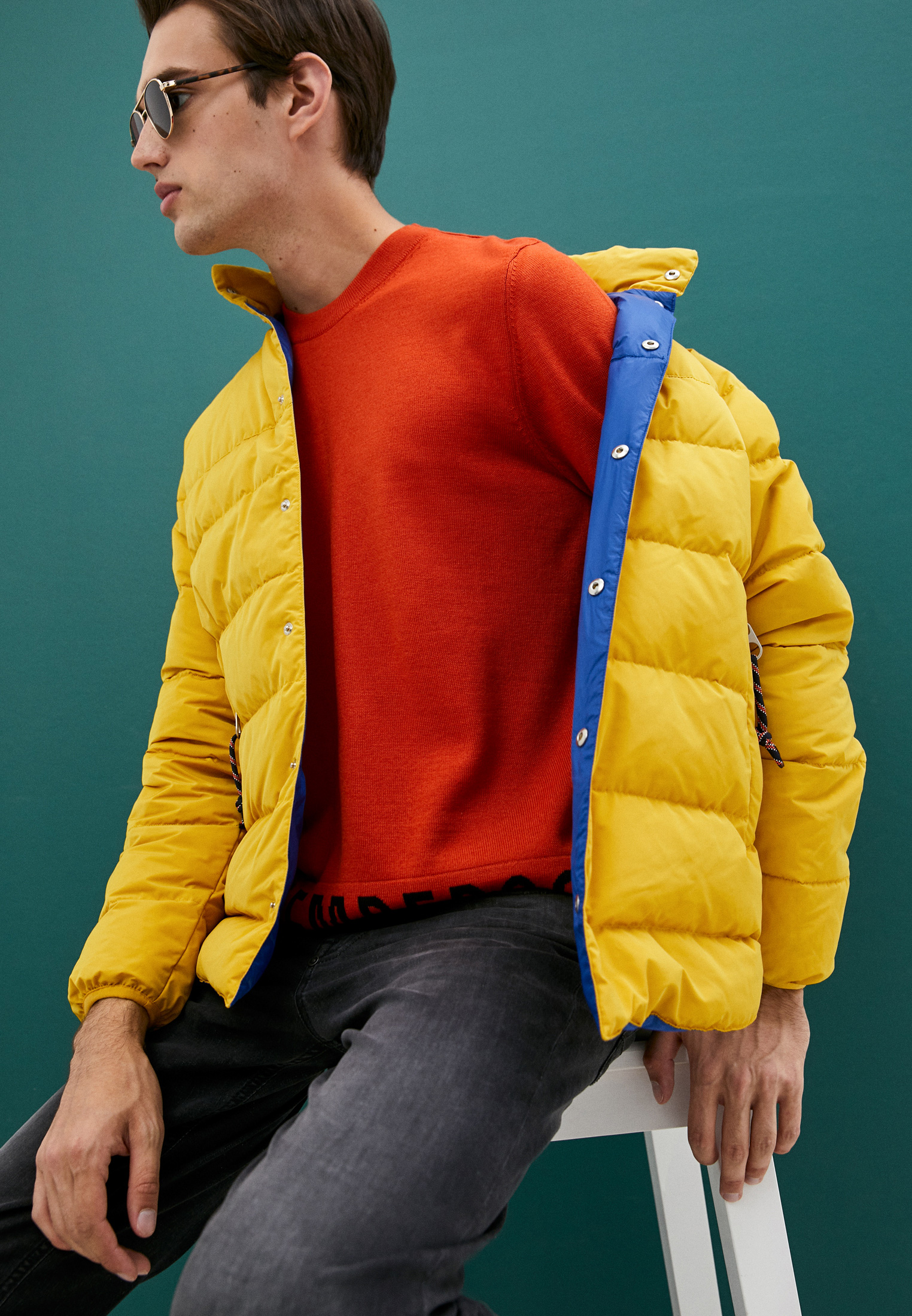Мужская куртка Bikkembergs (Биккембергс) C H 087 00 T 9839: изображение 2