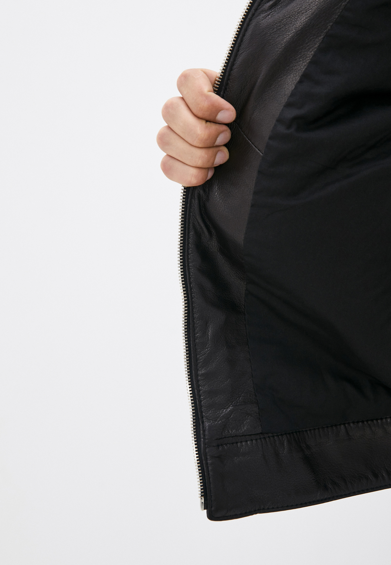 Кожаная куртка Bikkembergs (Биккембергс) C H 117 80 D 1180: изображение 5