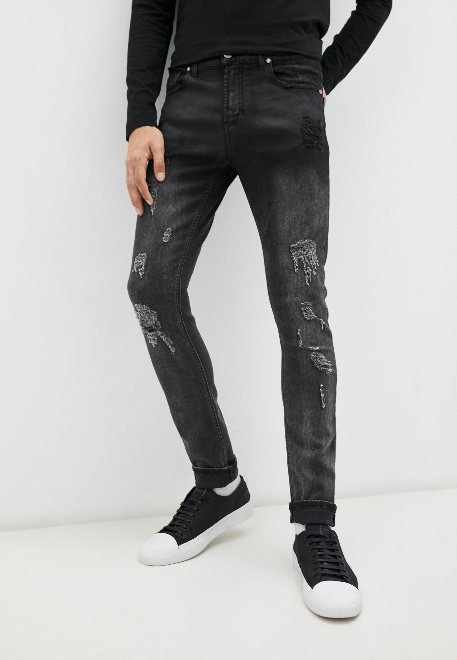 Мужские зауженные джинсы Bikkembergs (Биккембергс) C Q 001 85 S 2927