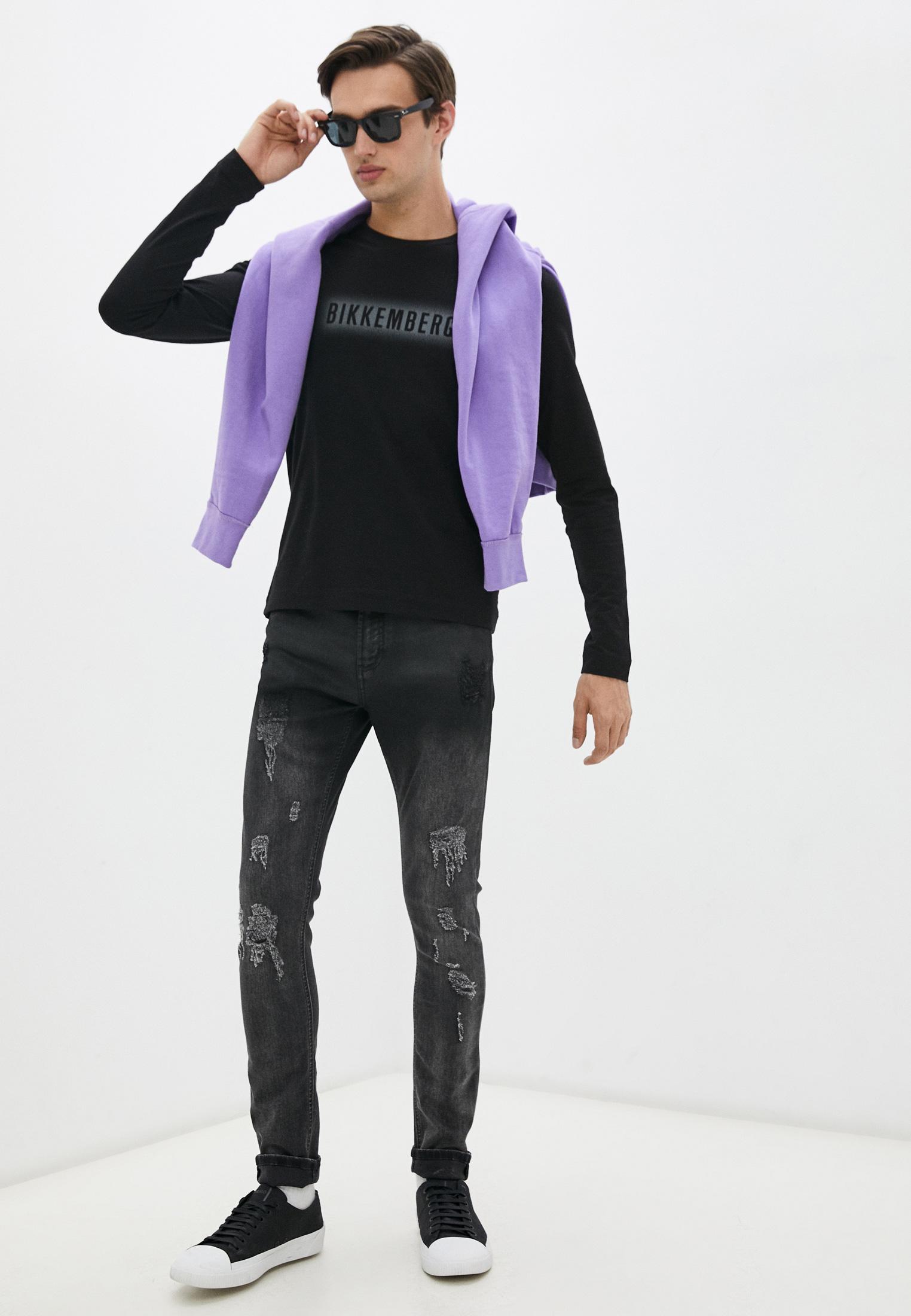 Мужские зауженные джинсы Bikkembergs (Биккембергс) C Q 001 85 S 2927: изображение 3