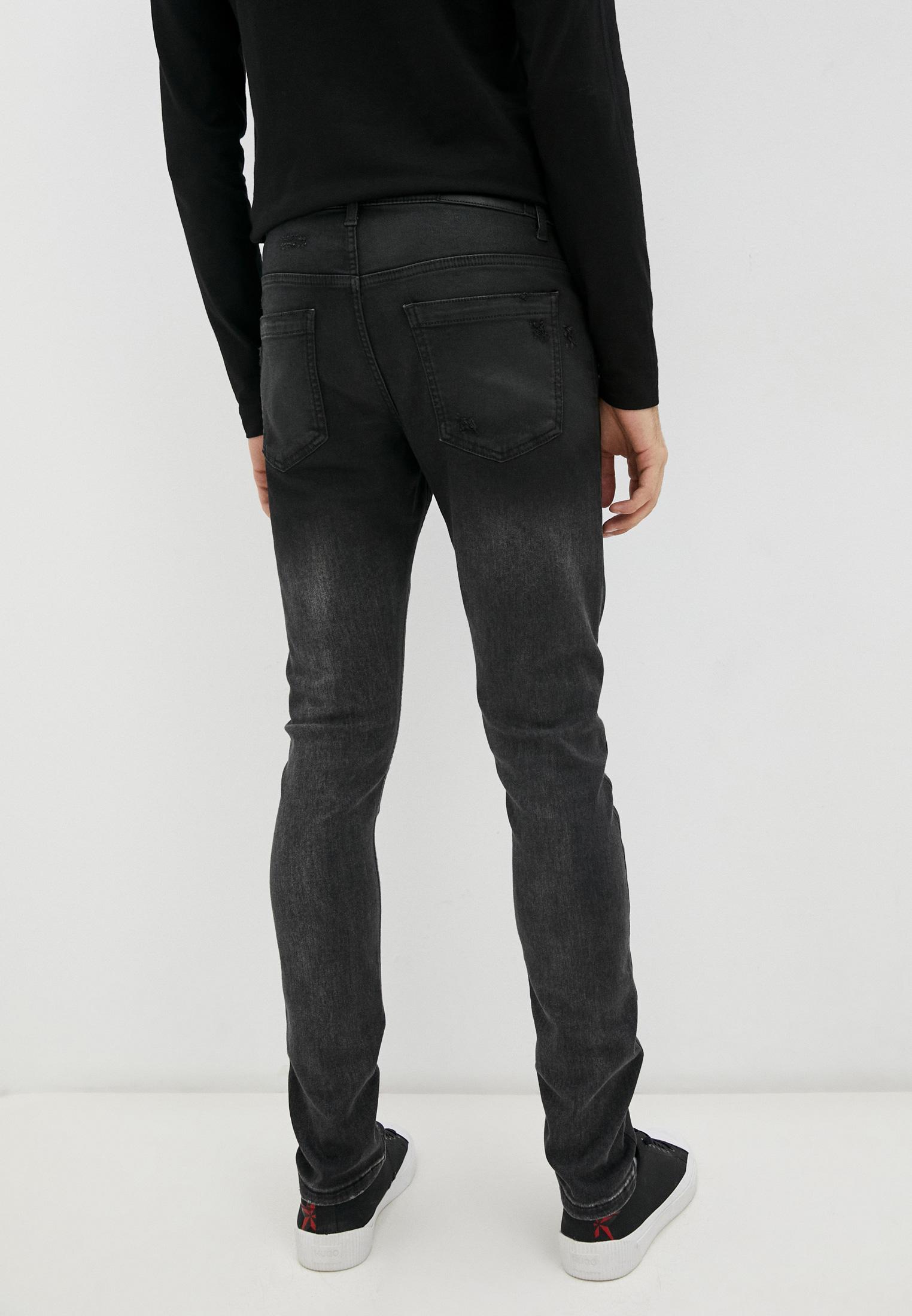 Мужские зауженные джинсы Bikkembergs (Биккембергс) C Q 001 85 S 2927: изображение 4