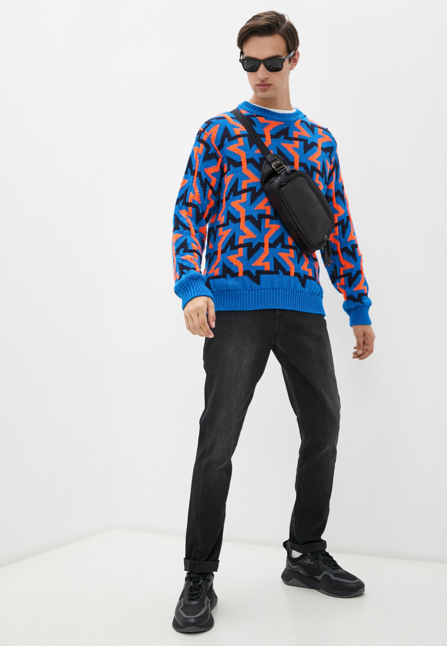 Мужские зауженные джинсы Bikkembergs (Биккембергс) C Q 015 86 S 2927: изображение 3