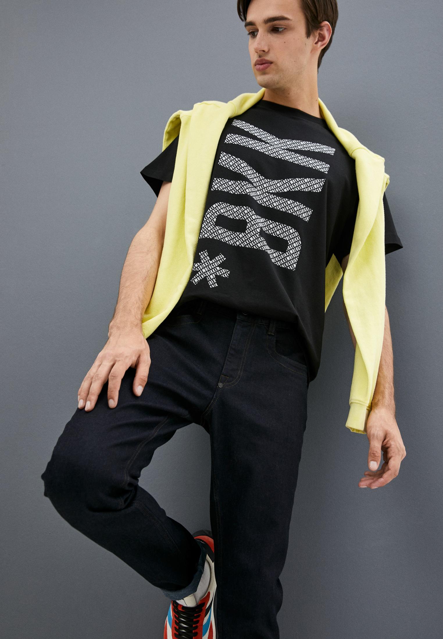 Мужские прямые джинсы Bikkembergs (Биккембергс) C Q 101 01 S 3333: изображение 7