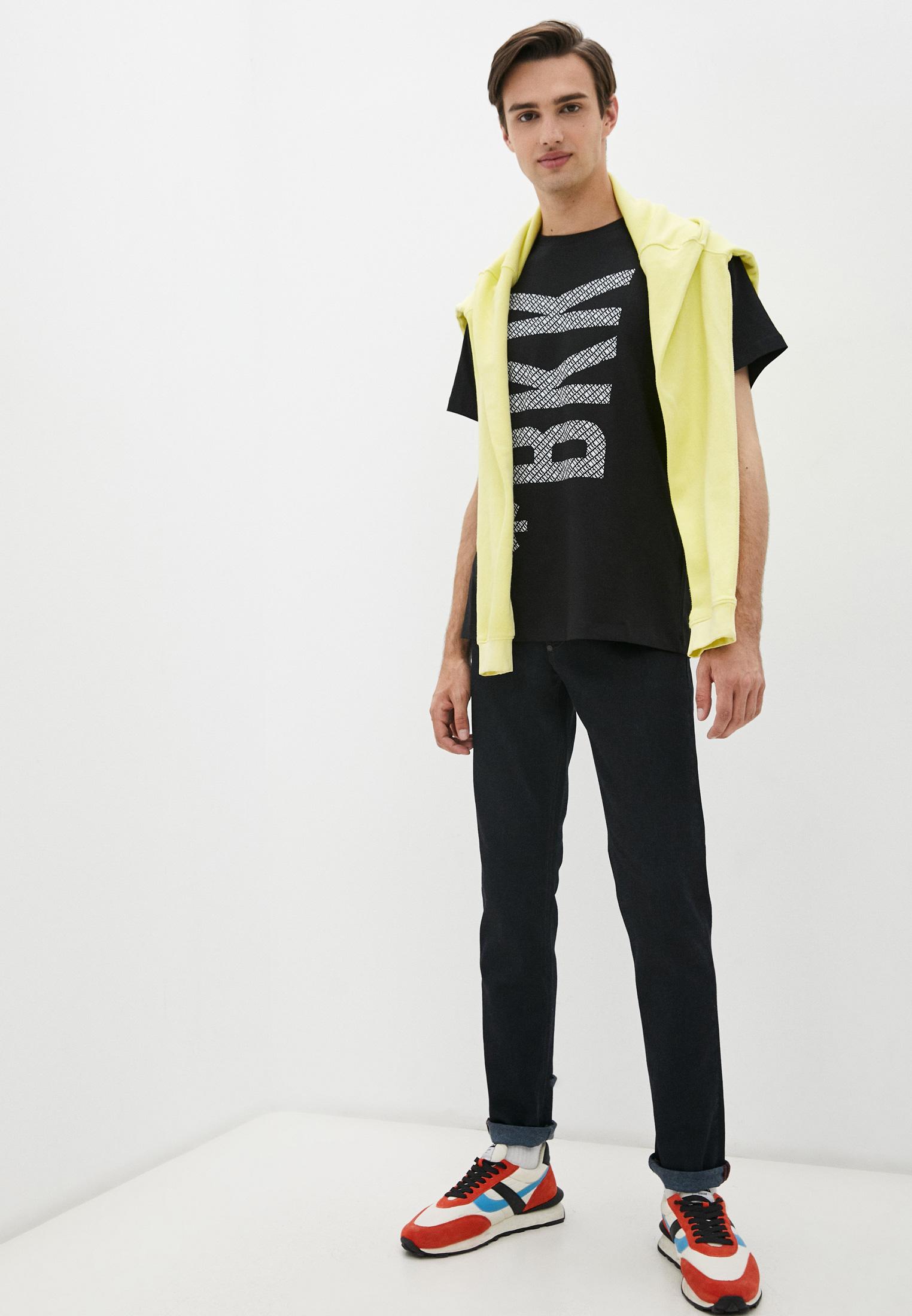 Мужские прямые джинсы Bikkembergs (Биккембергс) C Q 101 01 S 3333: изображение 8