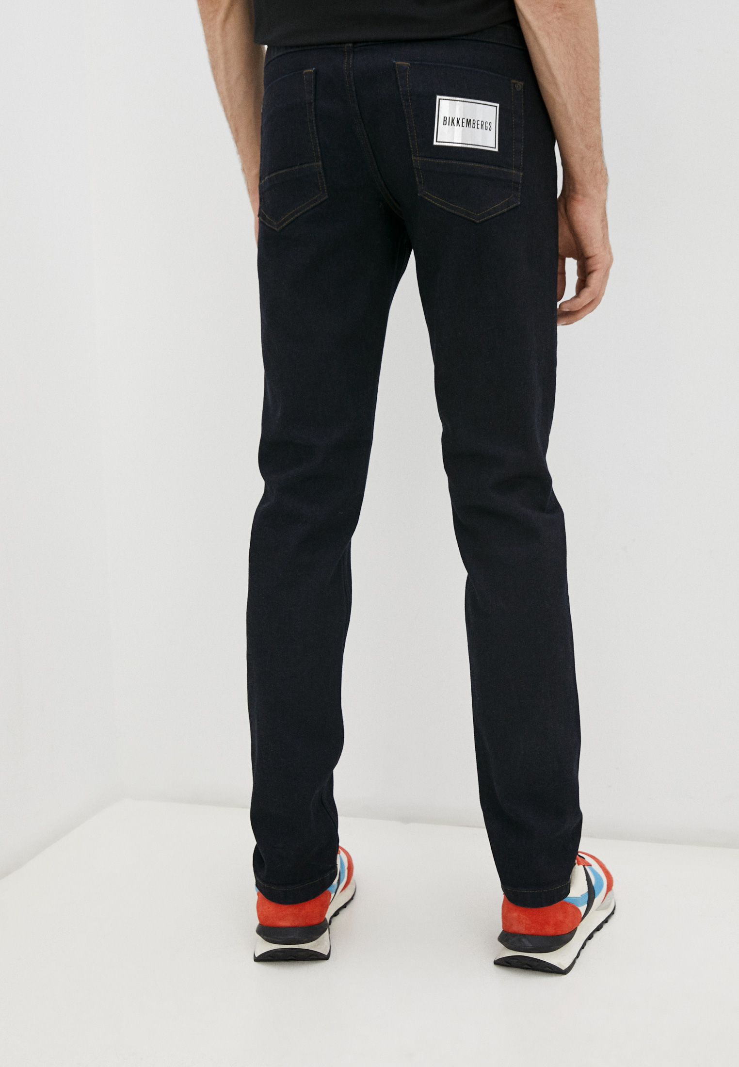 Мужские прямые джинсы Bikkembergs (Биккембергс) C Q 101 01 S 3333: изображение 9