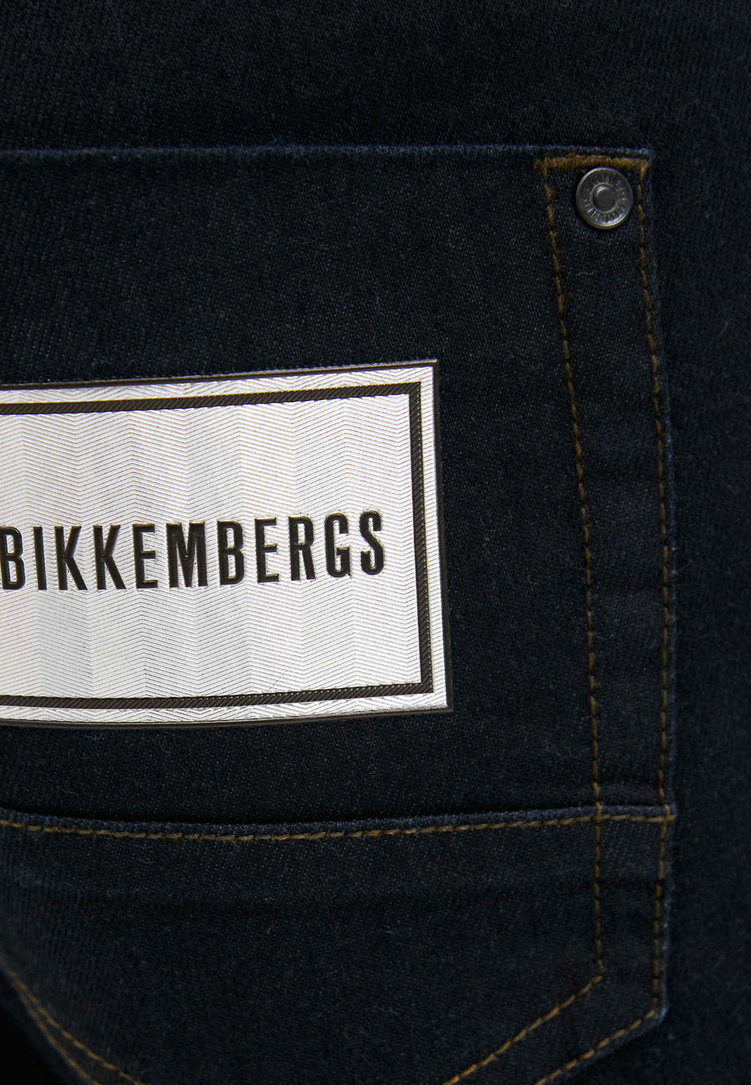 Мужские прямые джинсы Bikkembergs (Биккембергс) C Q 101 01 S 3333: изображение 10