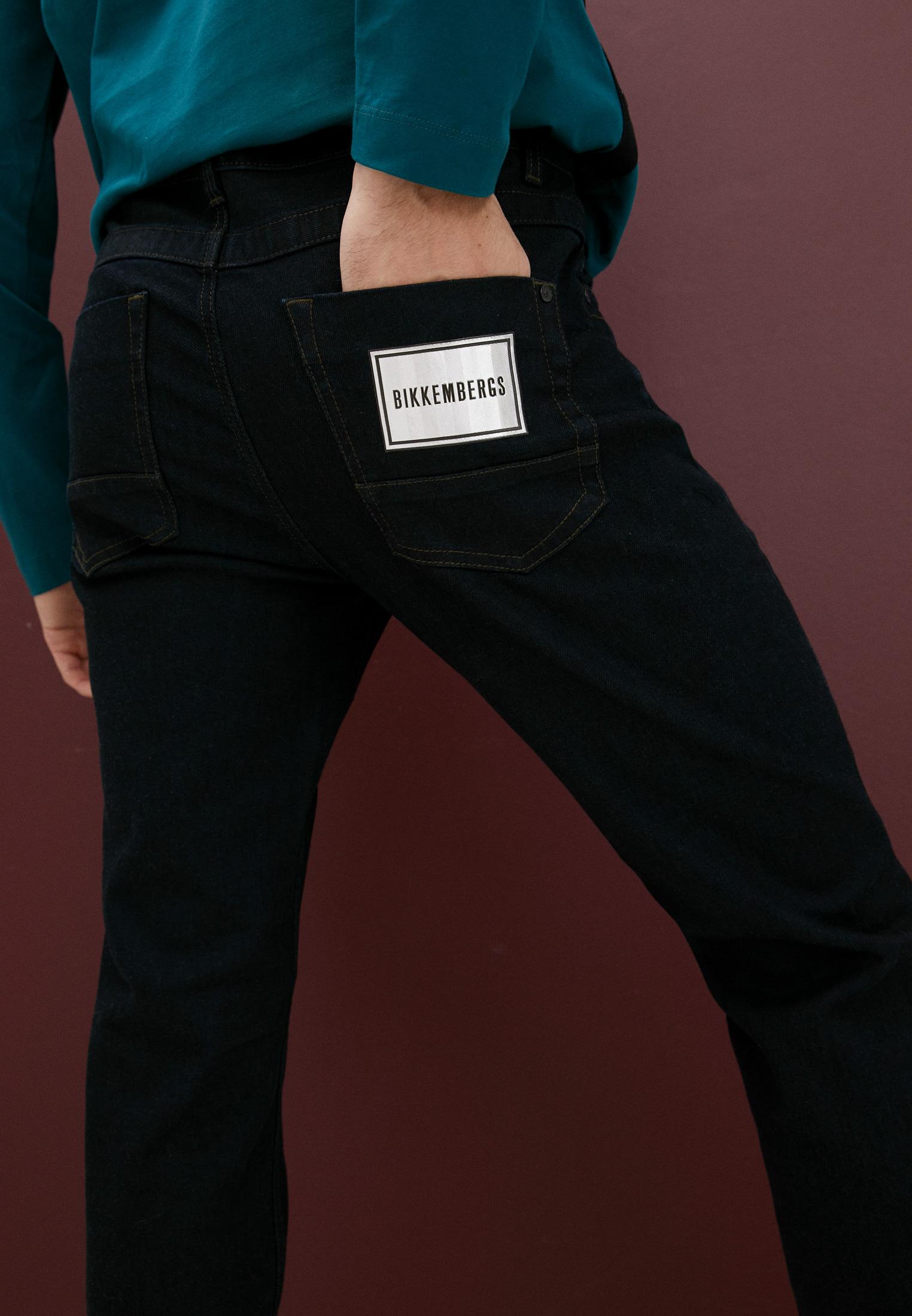Мужские прямые джинсы Bikkembergs (Биккембергс) C Q 101 01 S 3333: изображение 12