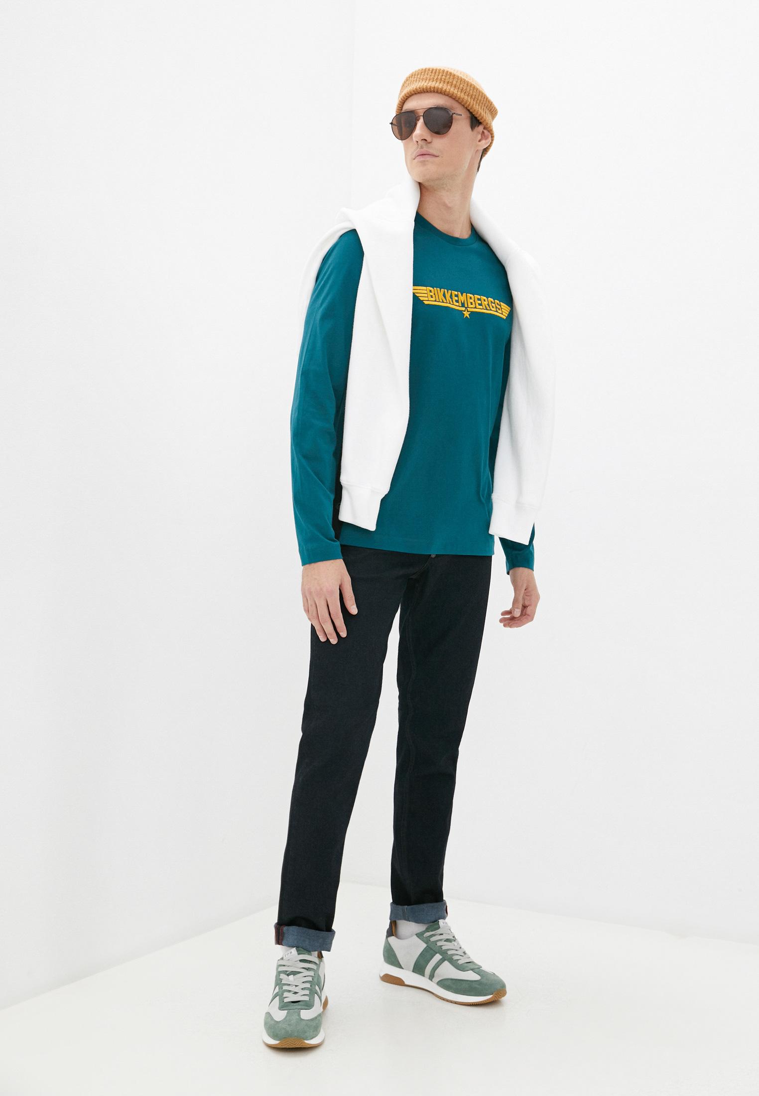 Мужские прямые джинсы Bikkembergs (Биккембергс) C Q 101 01 S 3333: изображение 13