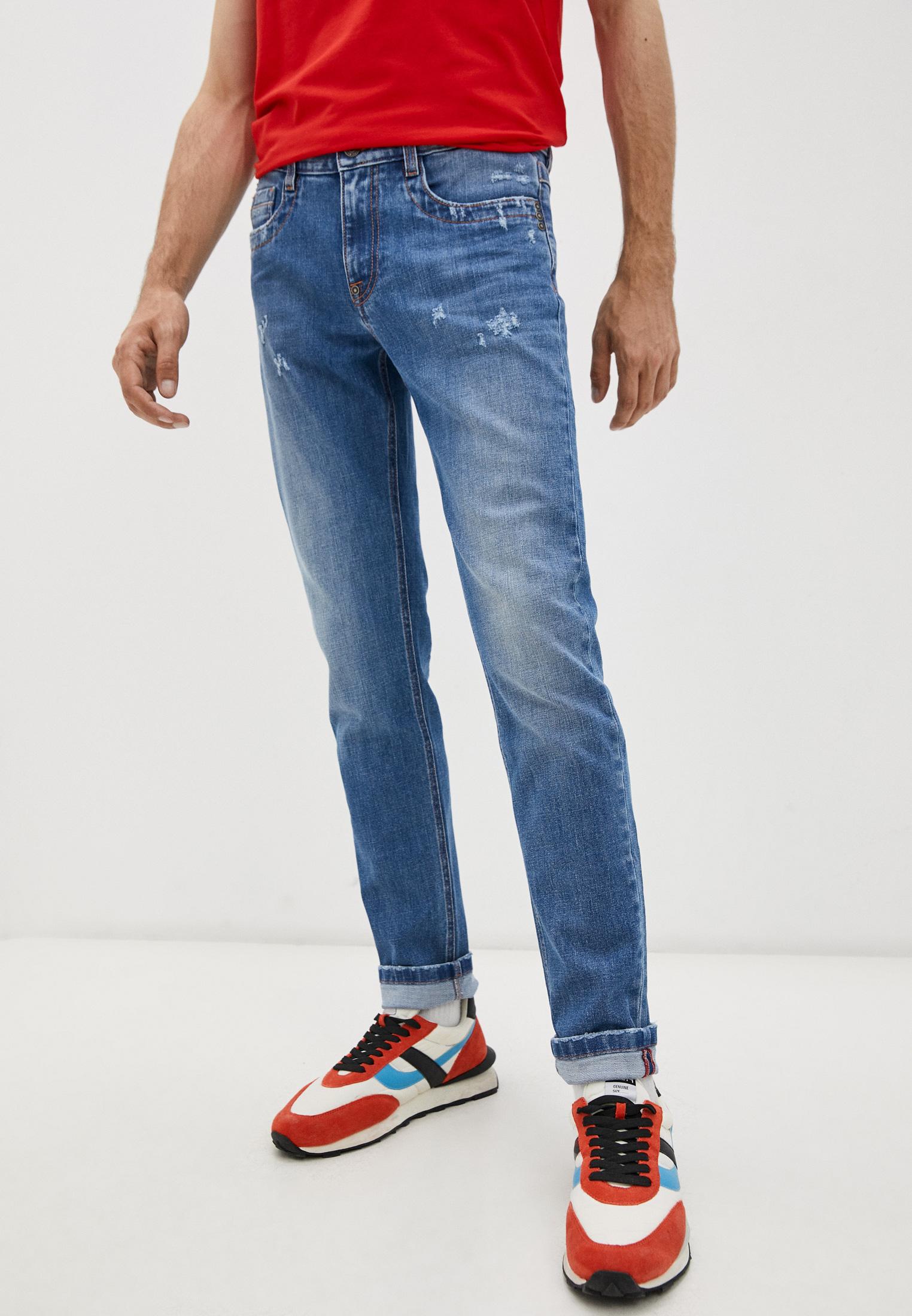 Мужские зауженные джинсы Bikkembergs (Биккембергс) C Q 101 03 S 3393