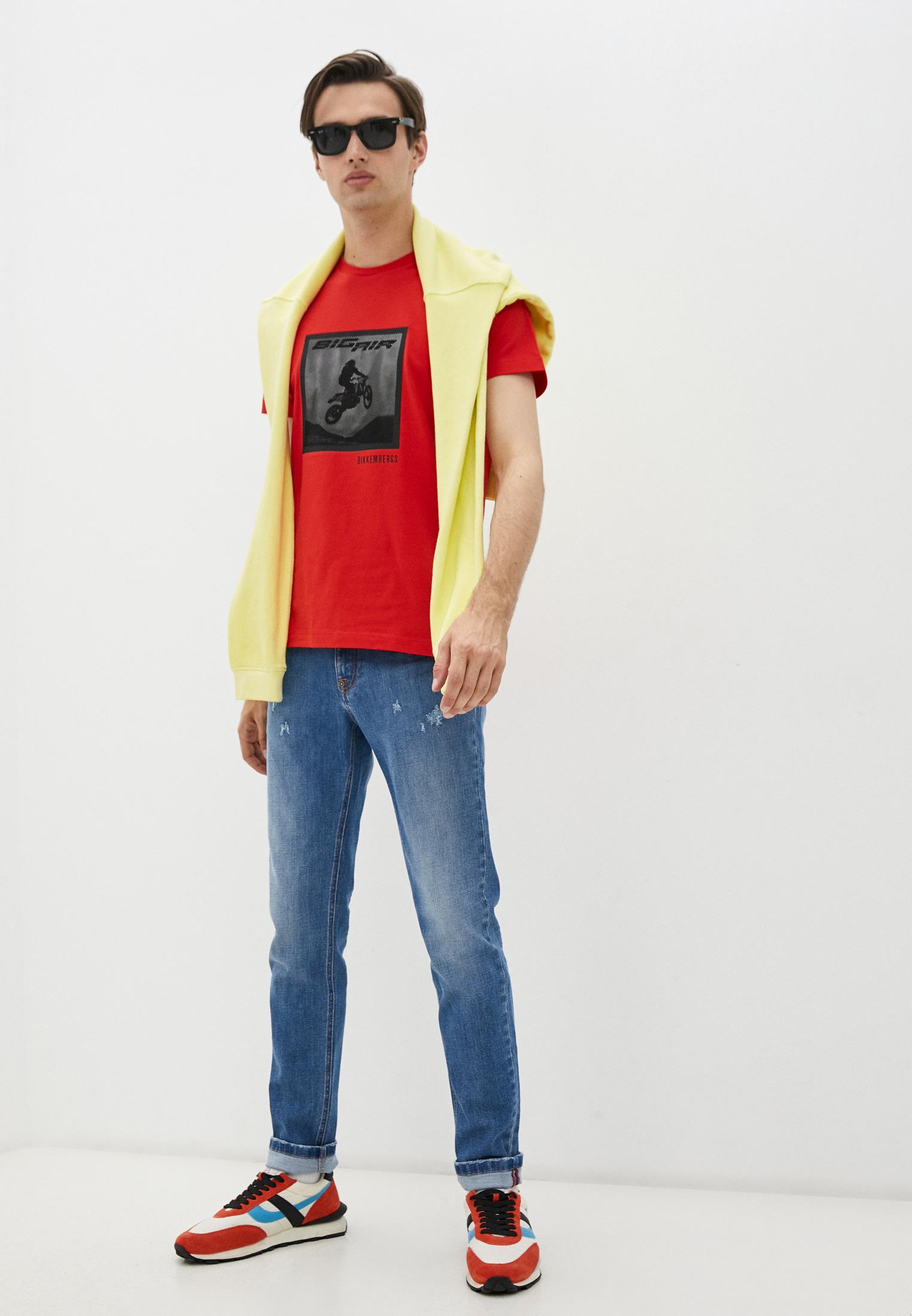 Мужские зауженные джинсы Bikkembergs (Биккембергс) C Q 101 03 S 3393: изображение 3