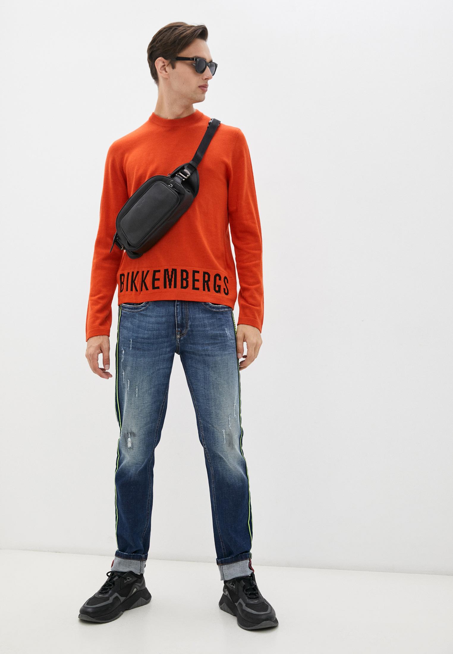 Зауженные джинсы Bikkembergs C Q 101 07 S 3182: изображение 3