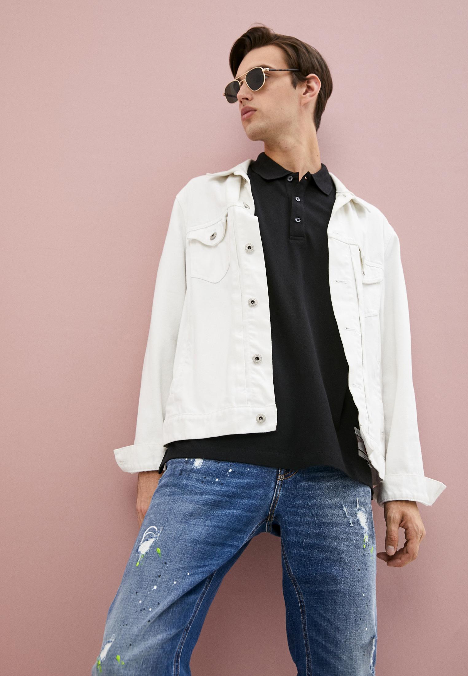 Мужские зауженные джинсы Bikkembergs (Биккембергс) C Q 101 09 S 3182: изображение 2