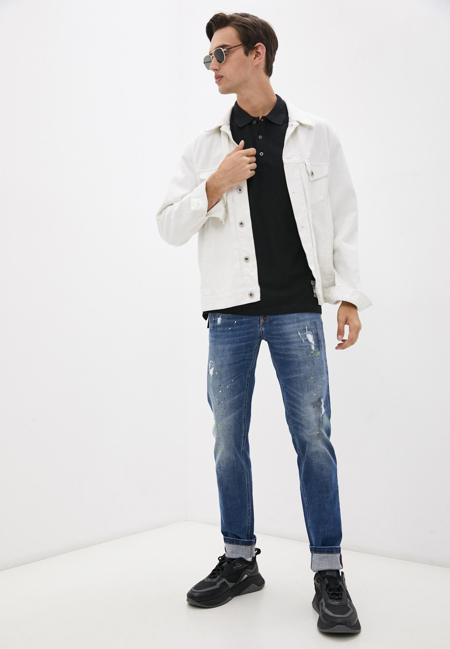 Мужские зауженные джинсы Bikkembergs (Биккембергс) C Q 101 09 S 3182: изображение 3