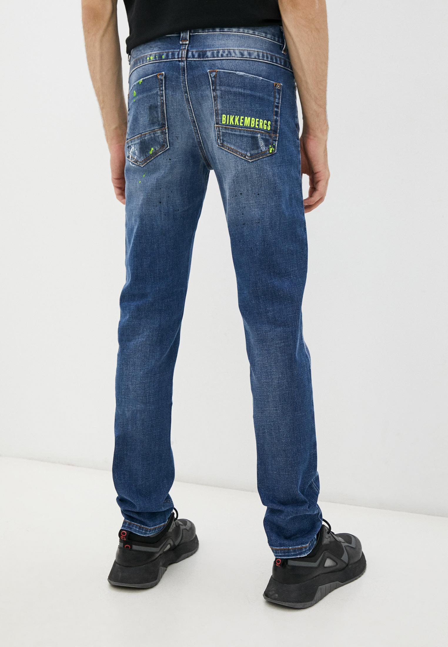 Мужские зауженные джинсы Bikkembergs (Биккембергс) C Q 101 09 S 3182: изображение 4