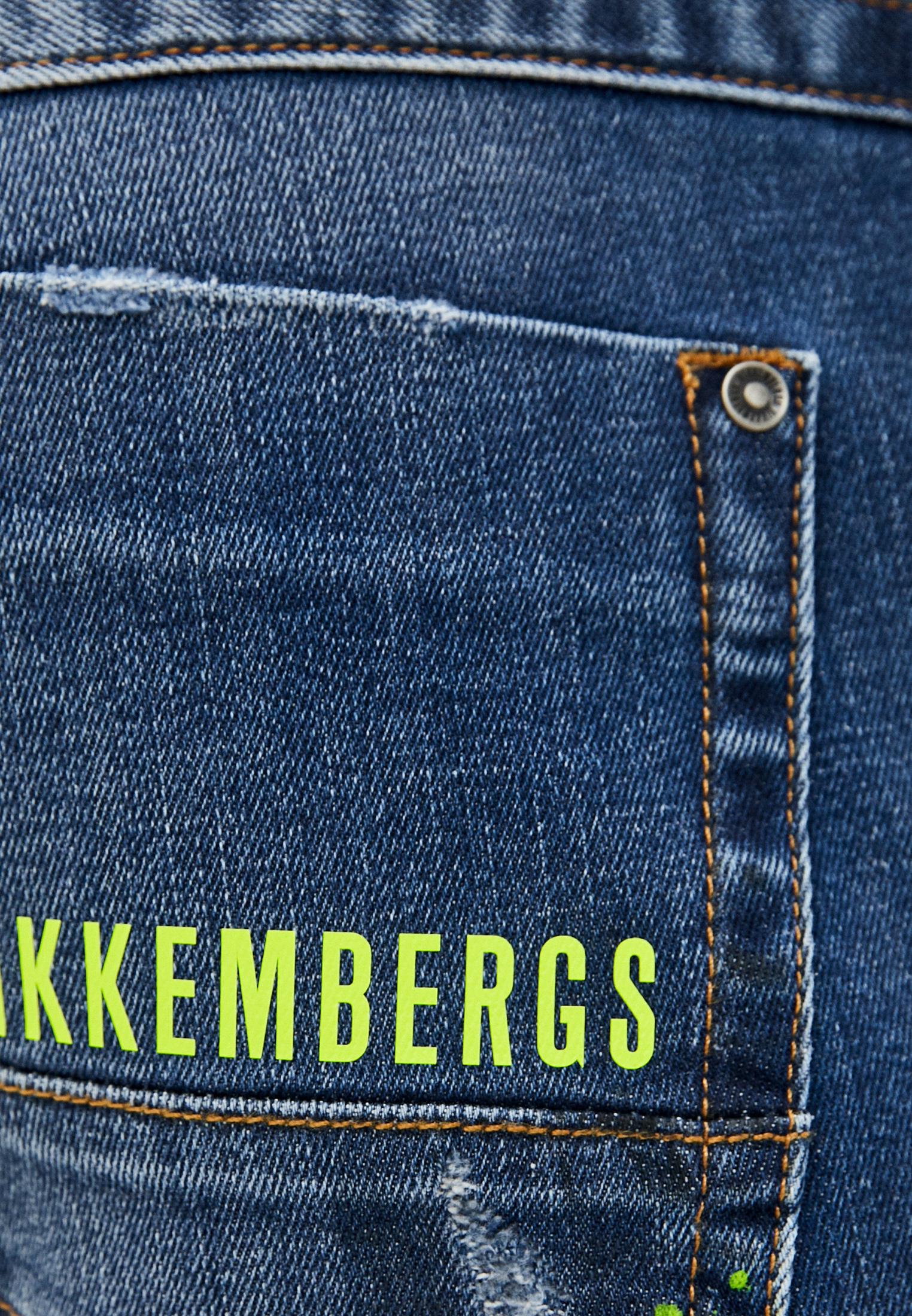 Мужские зауженные джинсы Bikkembergs (Биккембергс) C Q 101 09 S 3182: изображение 5