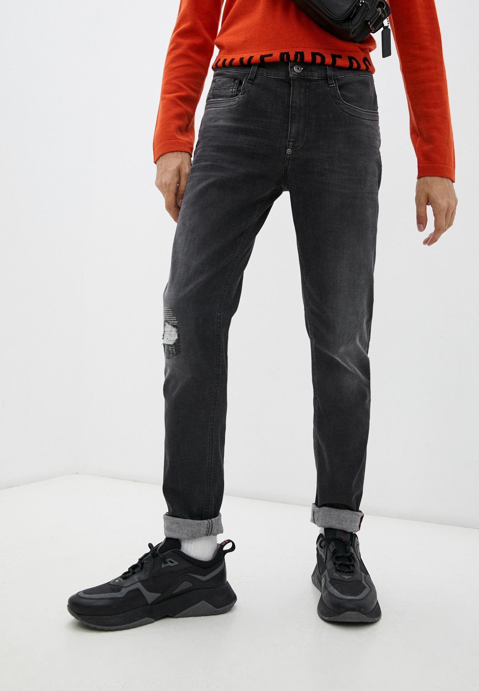Мужские зауженные джинсы Bikkembergs (Биккембергс) C Q 101 17 S 3446