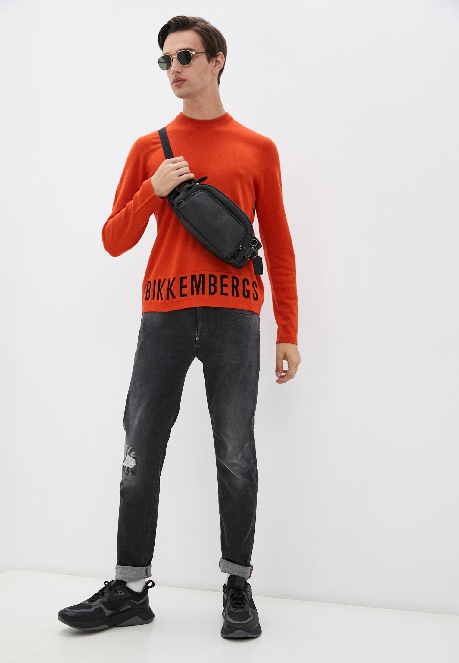 Мужские зауженные джинсы Bikkembergs (Биккембергс) C Q 101 17 S 3446: изображение 3
