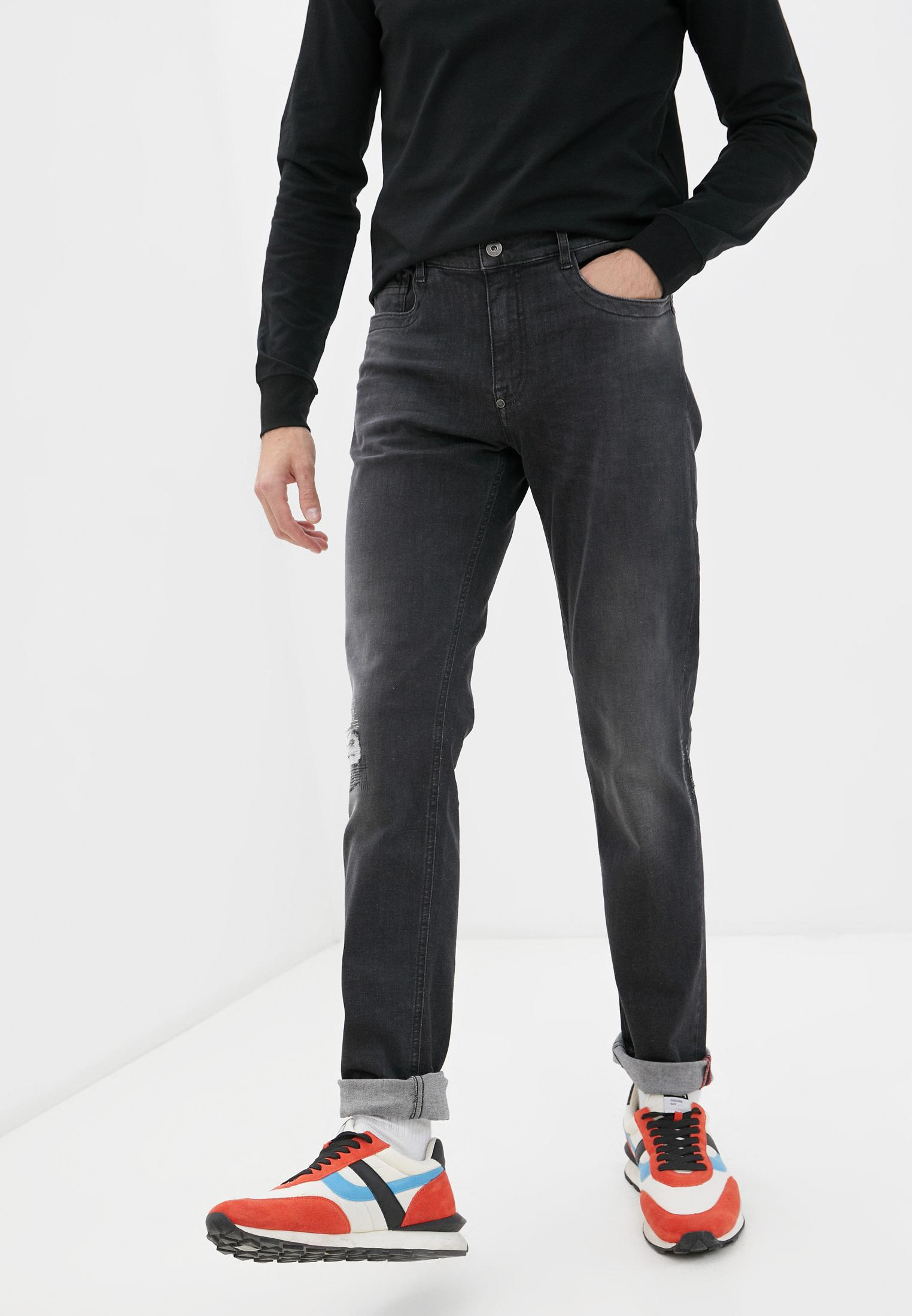 Мужские зауженные джинсы Bikkembergs (Биккембергс) C Q 101 17 S 3446: изображение 6
