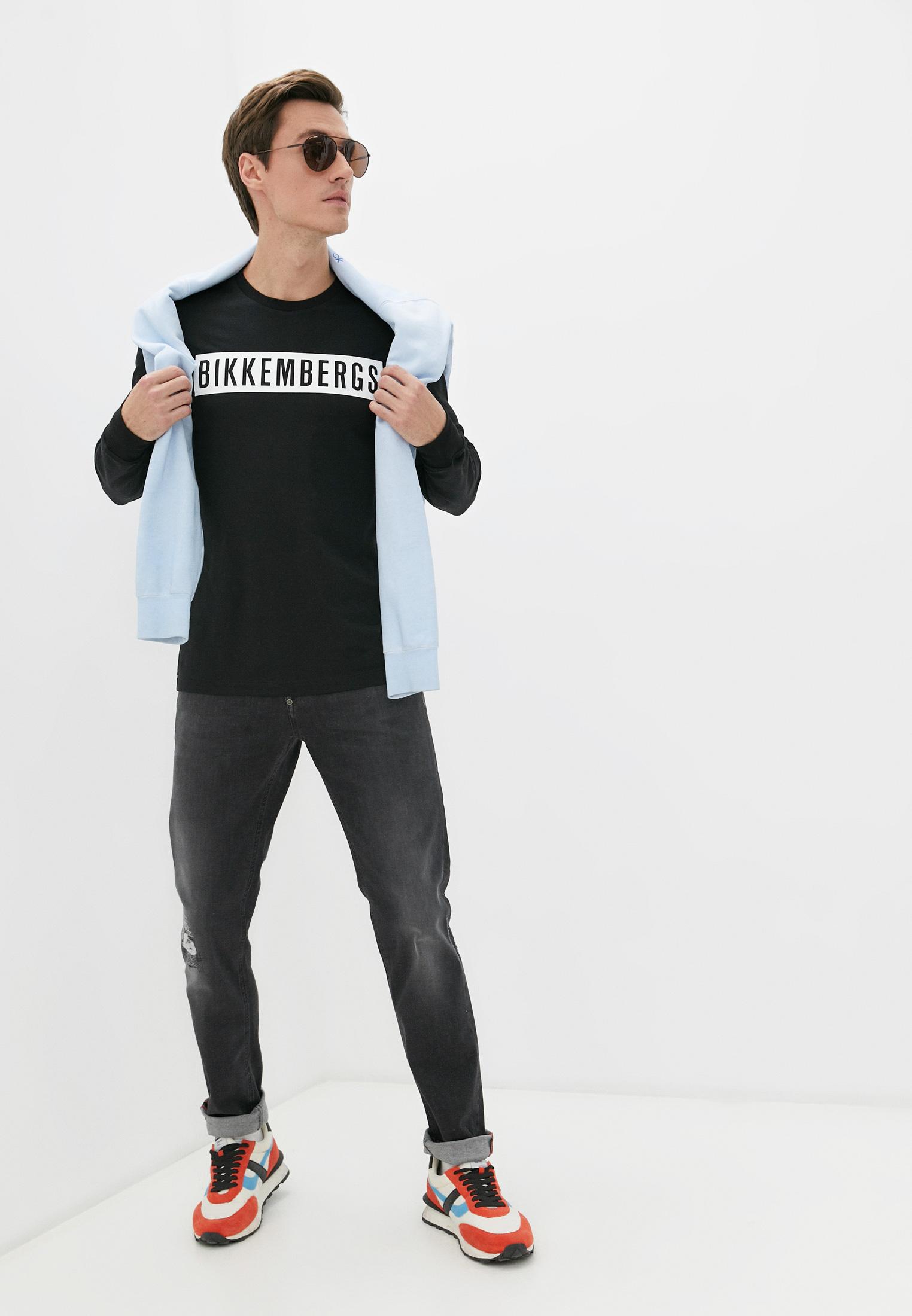 Мужские зауженные джинсы Bikkembergs (Биккембергс) C Q 101 17 S 3446: изображение 8