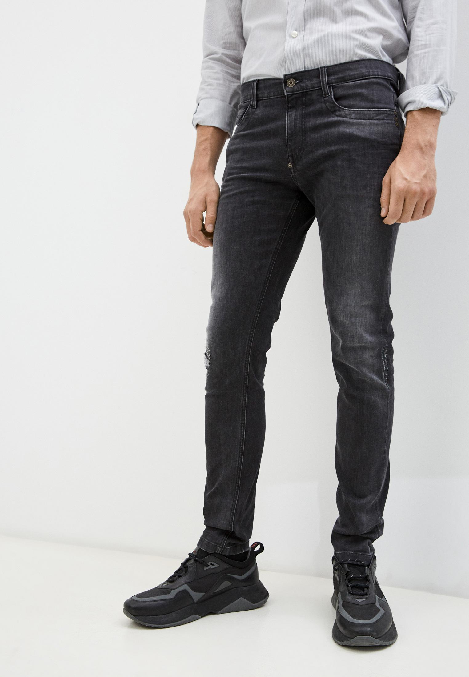 Мужские зауженные джинсы Bikkembergs (Биккембергс) C Q 101 17 S 3446: изображение 11