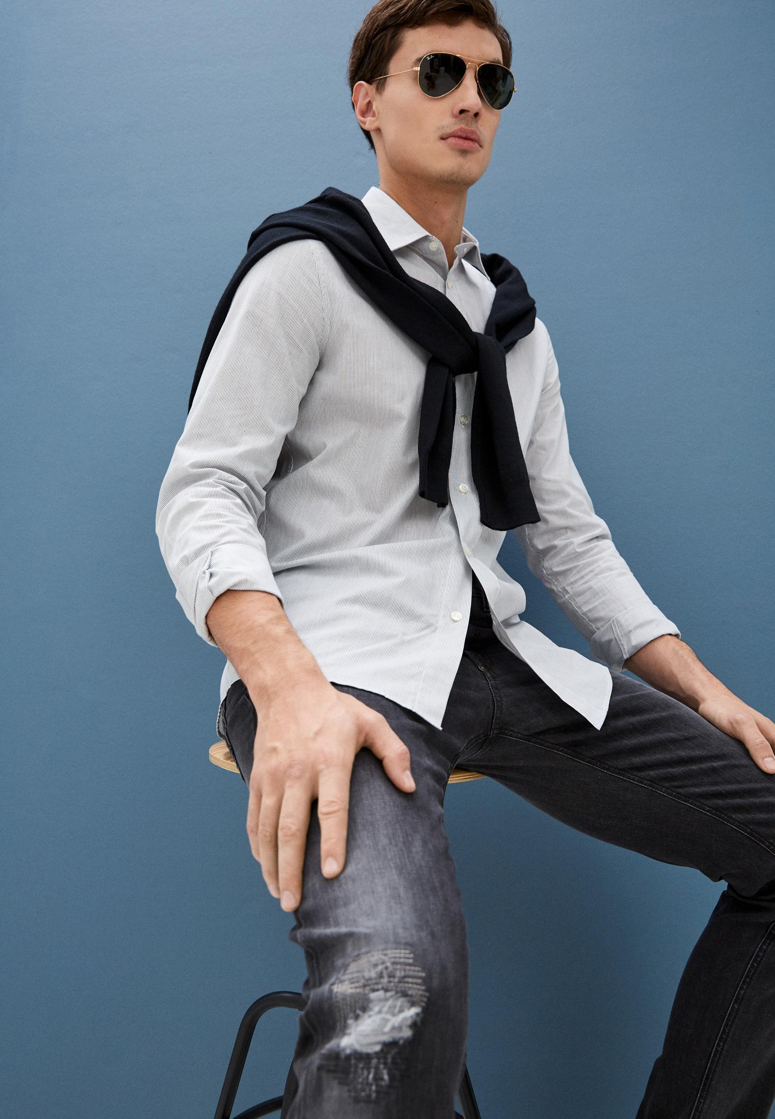 Мужские зауженные джинсы Bikkembergs (Биккембергс) C Q 101 17 S 3446: изображение 12