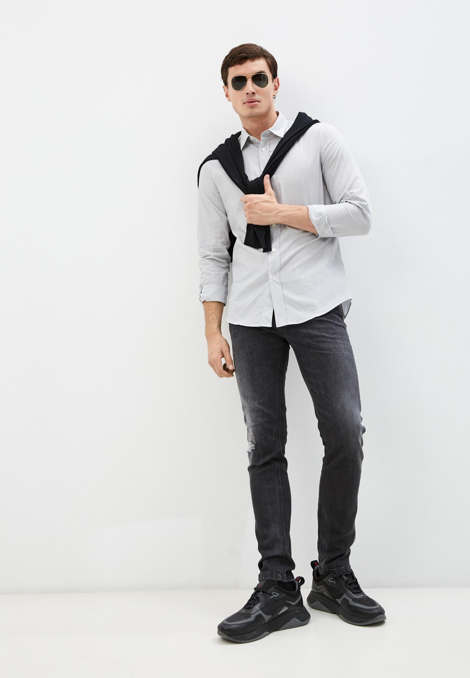 Мужские зауженные джинсы Bikkembergs (Биккембергс) C Q 101 17 S 3446: изображение 13