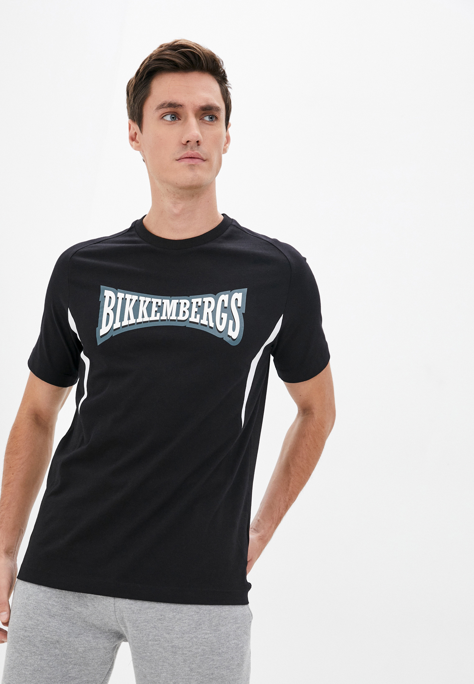 Мужская футболка Bikkembergs (Биккембергс) C 4 117 01 M 4298